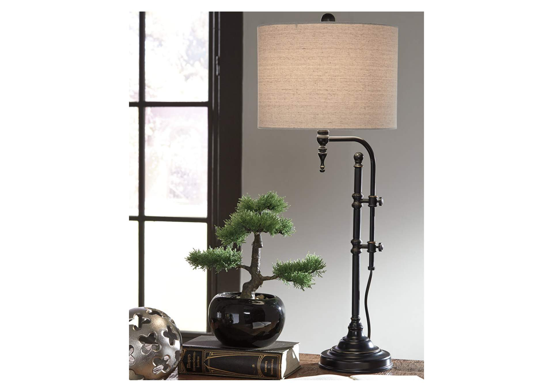 Anemoon Black Metal Table Lamp,Direct To Consumer Express
