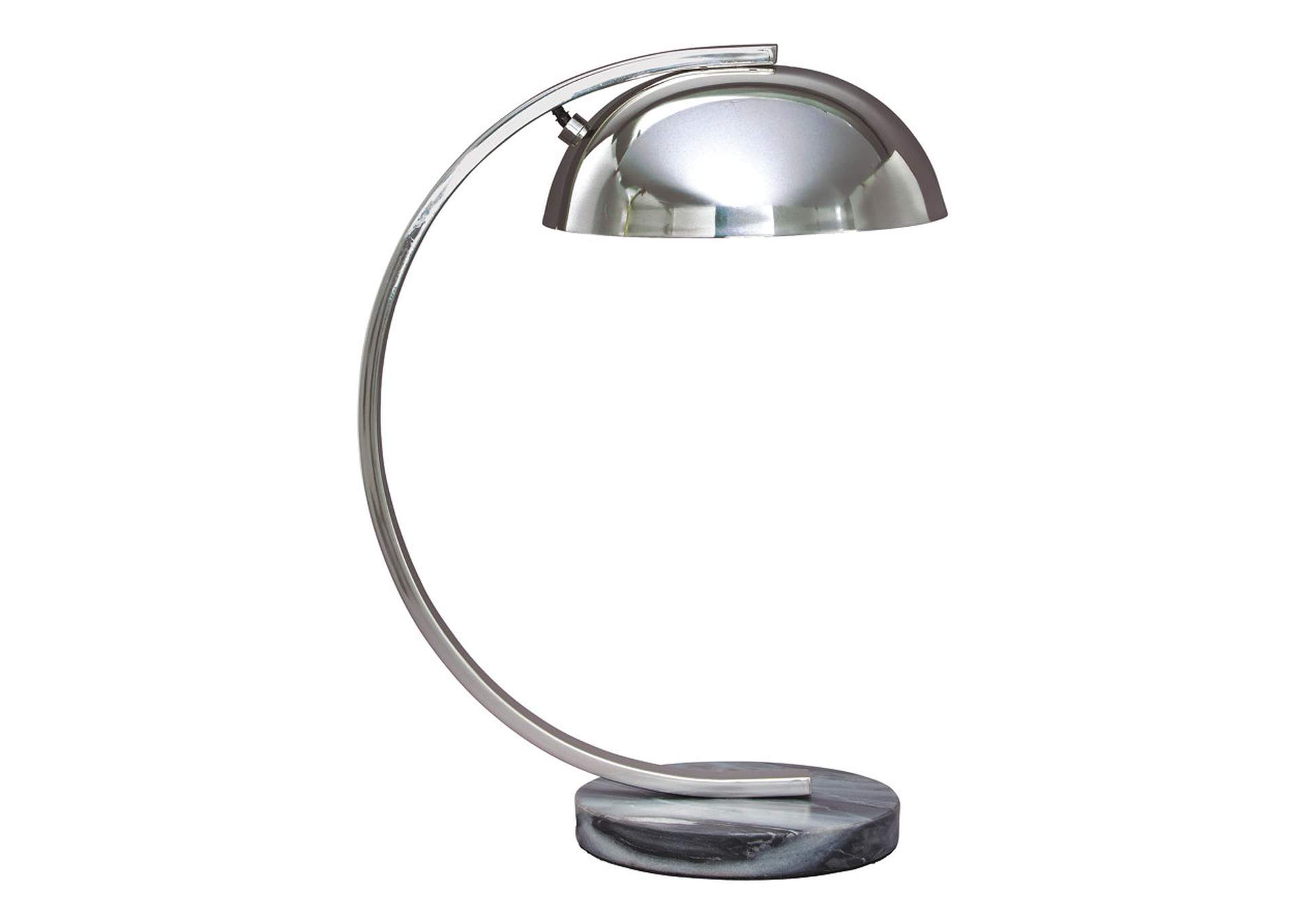 Haden Chrome Finish Metal Desk Lamp,Direct To Consumer Express