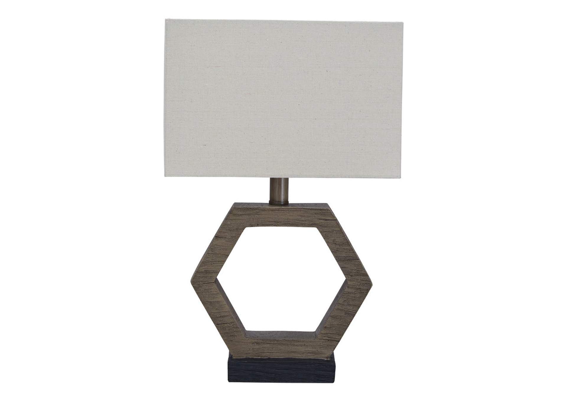 Marilu Gray/Brown Table Lamp,Signature Design By Ashley