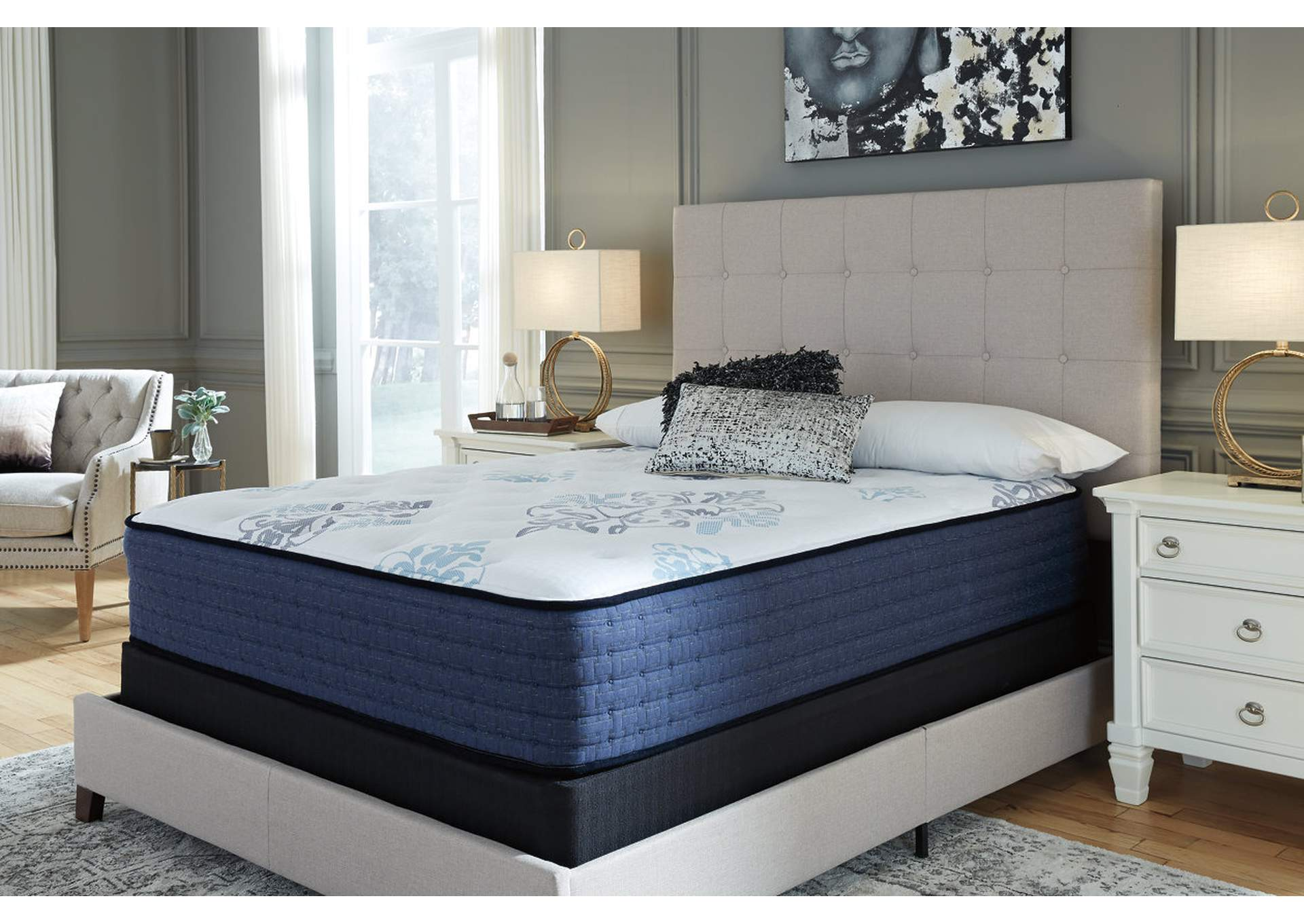 Mt. Dana White Eurotop King Mattress,Direct To Consumer Express