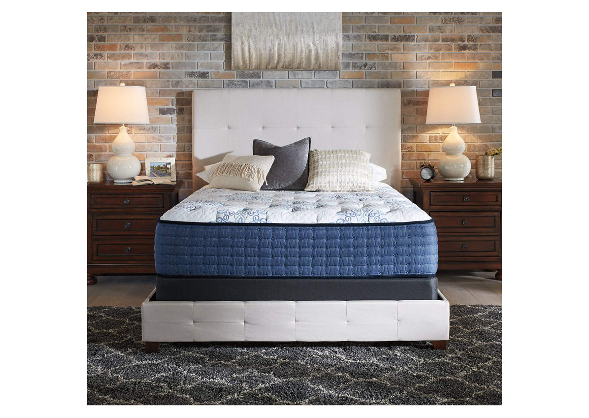 Mt Dana Firm Full Mattress w/Foundation,Sierra Sleep by Ashley