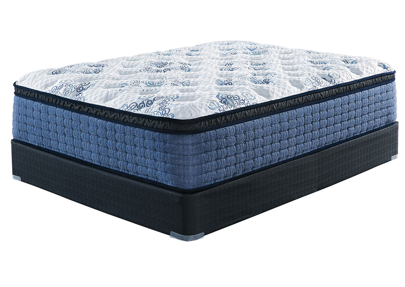 Mt Dana Euro Top Full Mattress w/Foundation,Sierra Sleep by Ashley