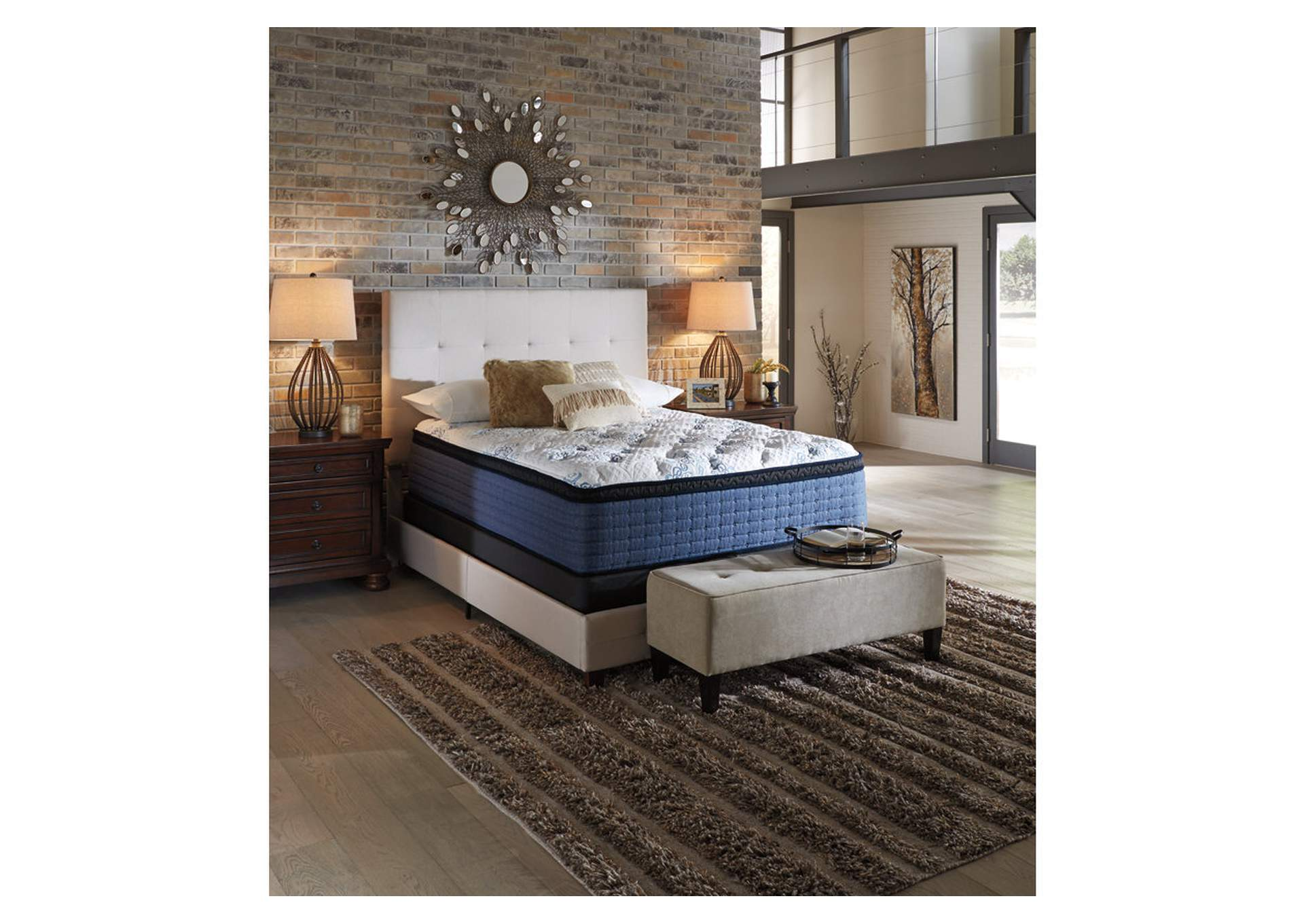 Mt Dana Euro Top Queen Mattress,Sierra Sleep by Ashley