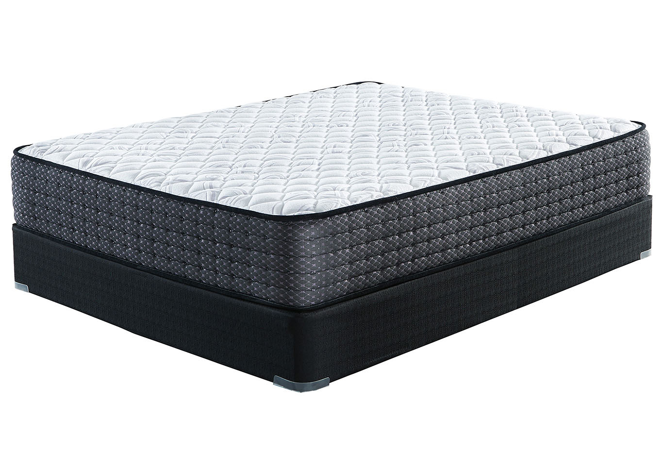 Limited Edition Firm Queen Mattress w/Foundation,Sierra Sleep by Ashley
