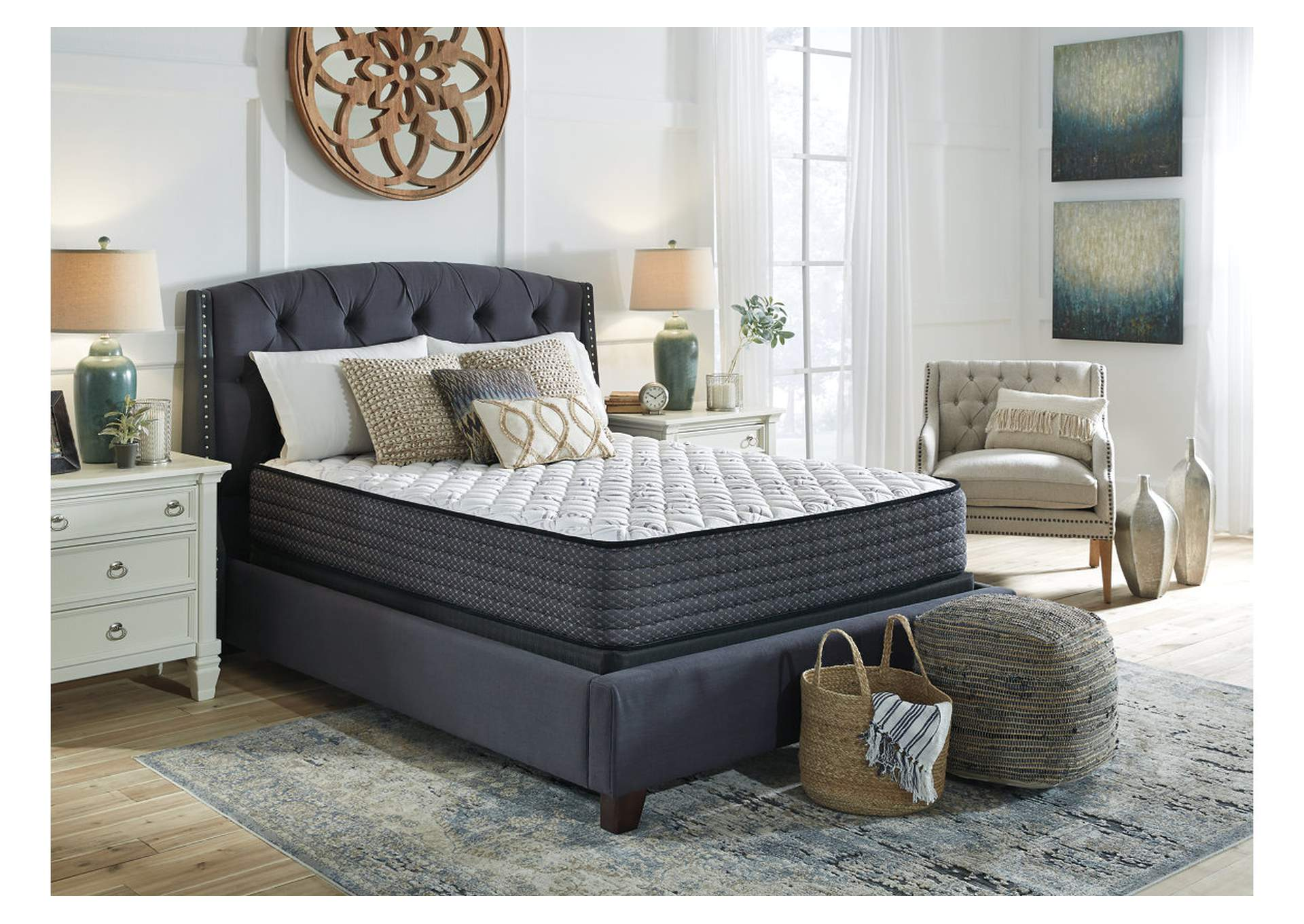 Limited Edition Firm Twin Mattress w/Foundation,Sierra Sleep by Ashley