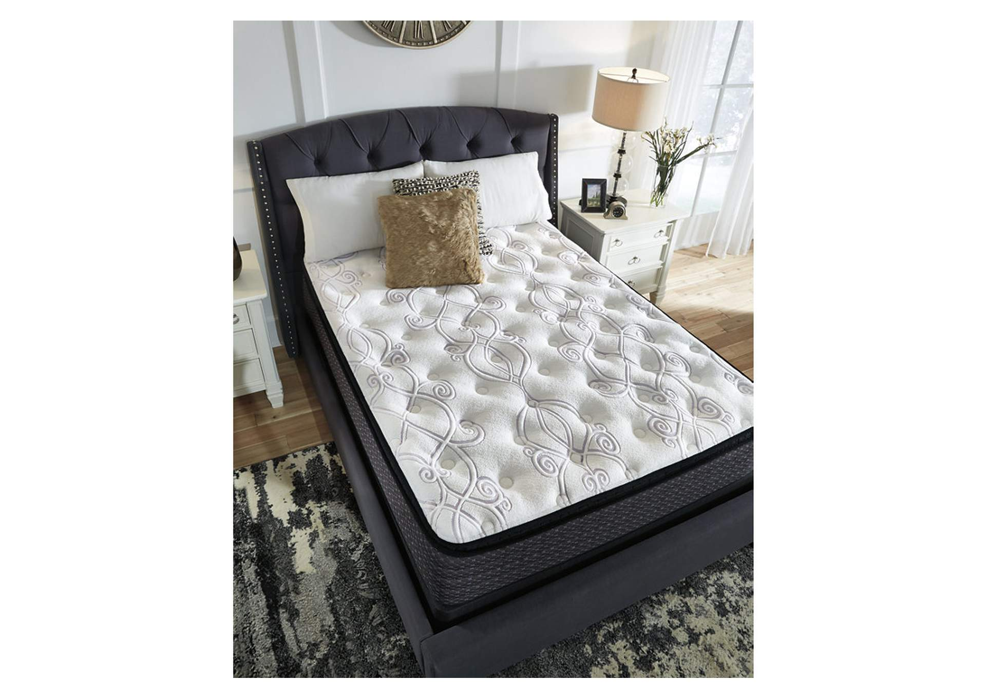 Limited Edition White Pillowtop King Mattress,Direct To Consumer Express