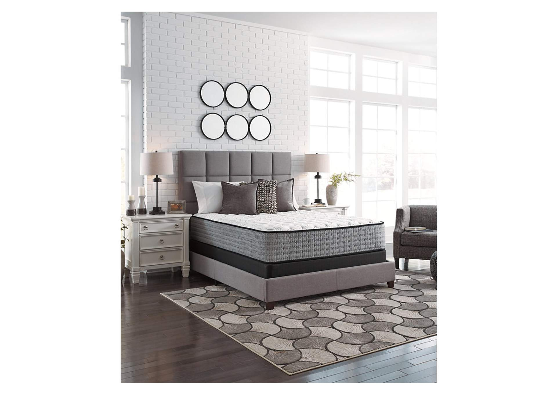 Mt. Rogers Ltd. White Firm Queen Mattress,Direct To Consumer Express