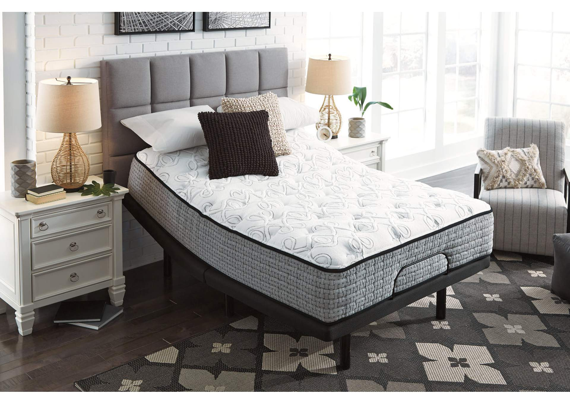 Mt. Rogers Ltd. White Plush King Mattress,Direct To Consumer Express
