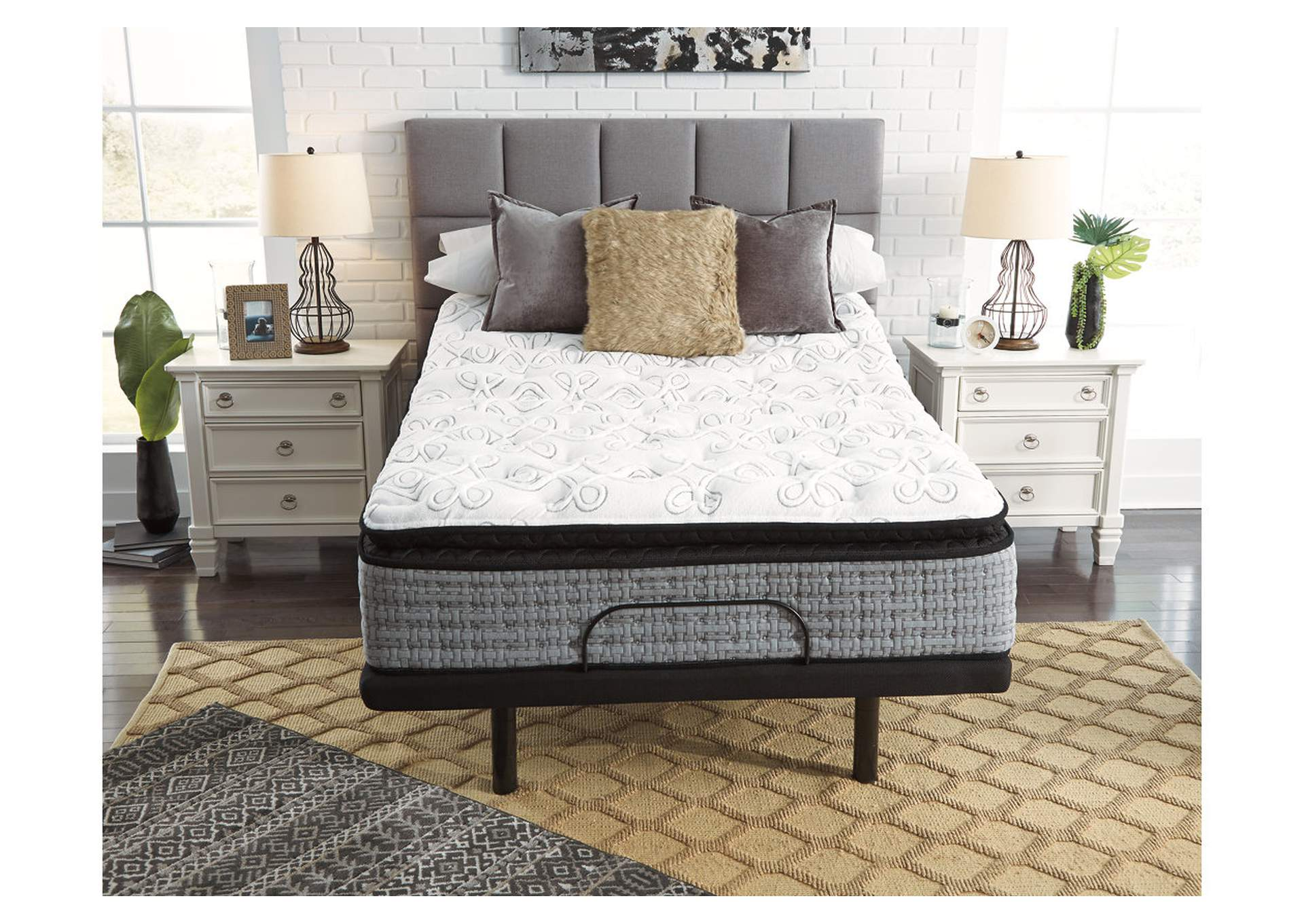 Mt Rogers Ltd Pillowtop King Mattress w/Foundation,Sierra Sleep by Ashley