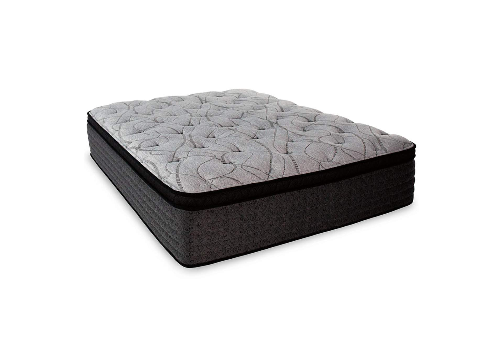 Mt Dana Euro Top King Mattress w/Foundation,Sierra Sleep by Ashley