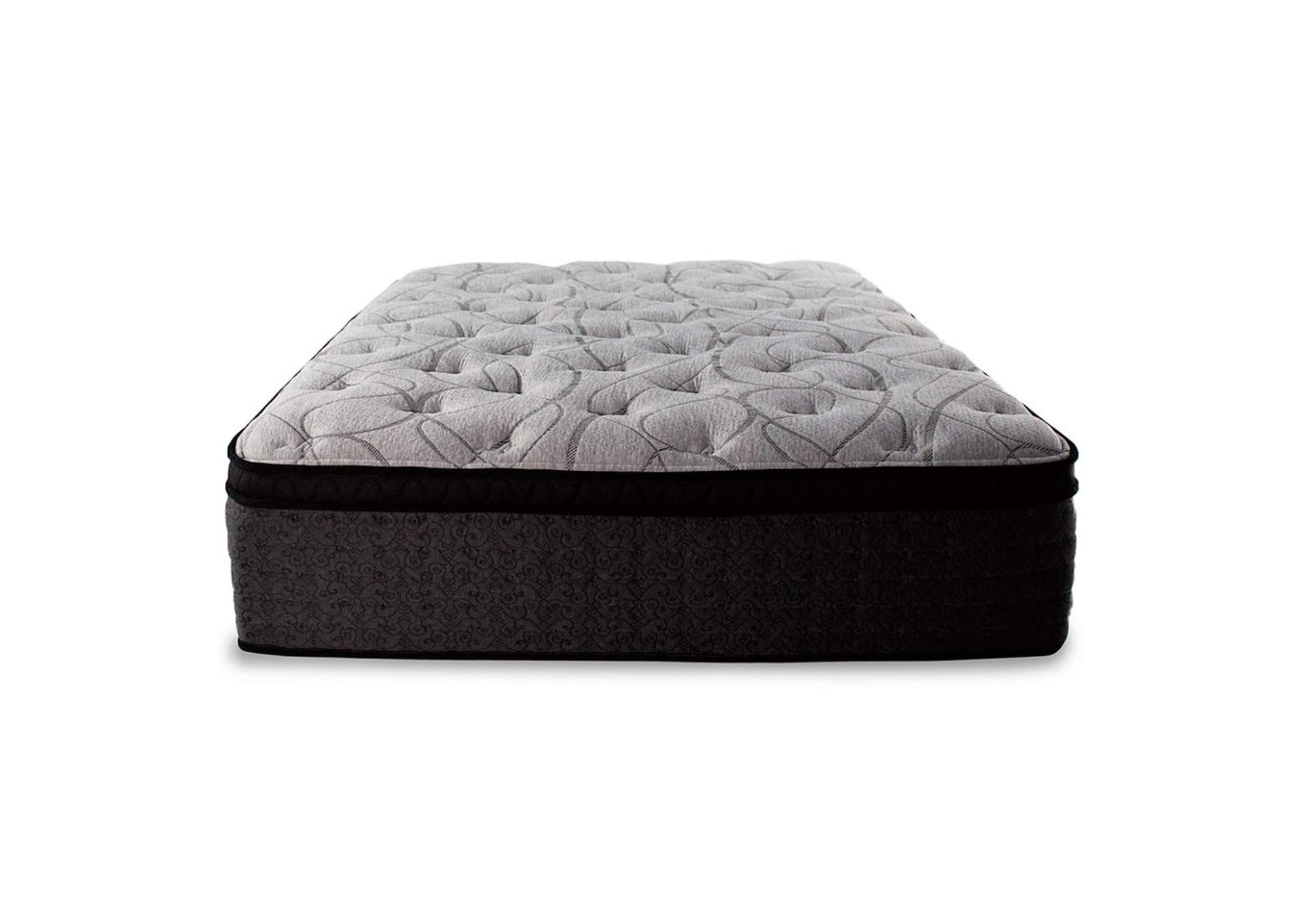 Mt Dana Euro Top Queen Mattress w/Foundation,Sierra Sleep by Ashley