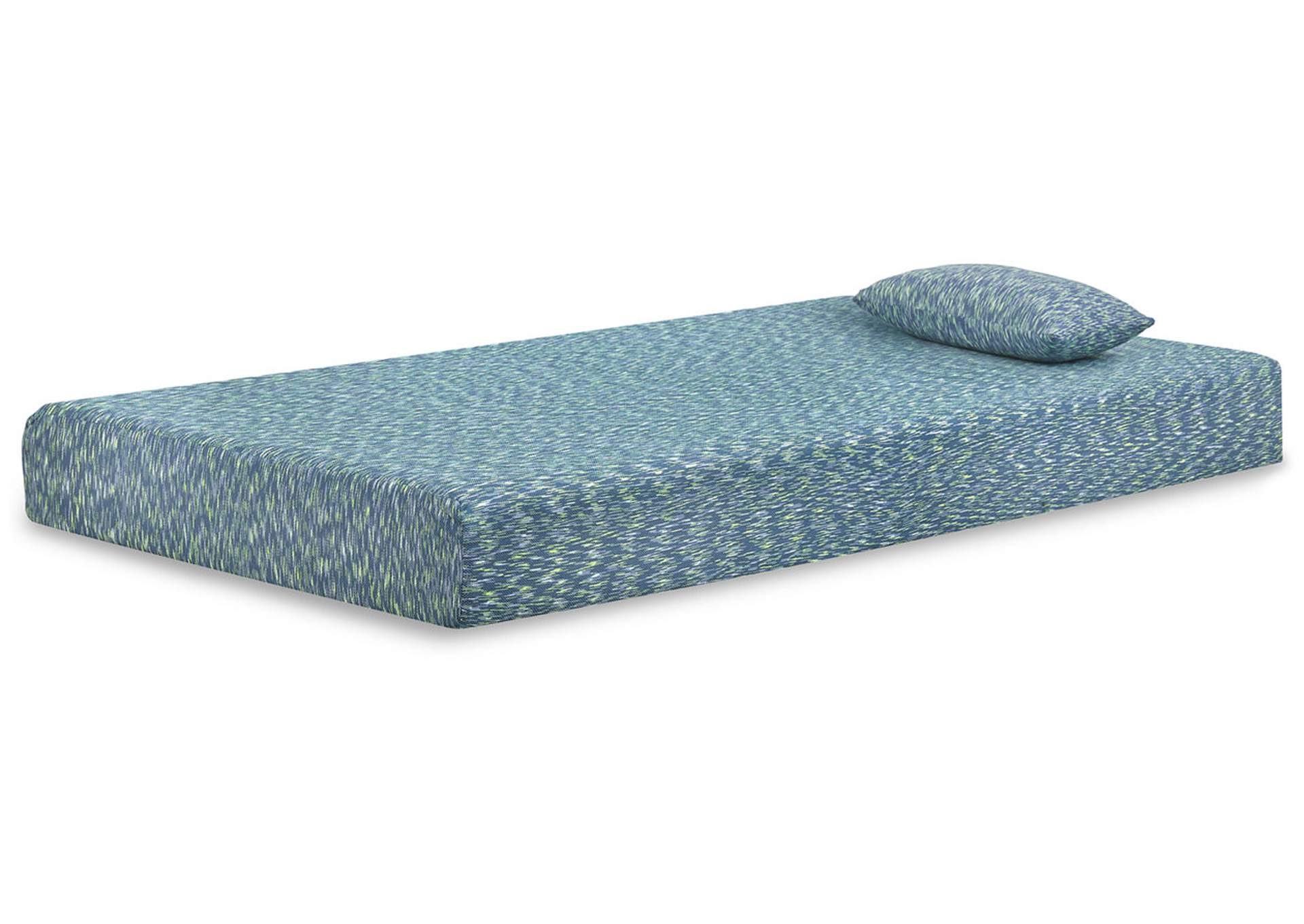 iKidz Blue Twin Mattress and Pillow,Sierra Sleep by Ashley