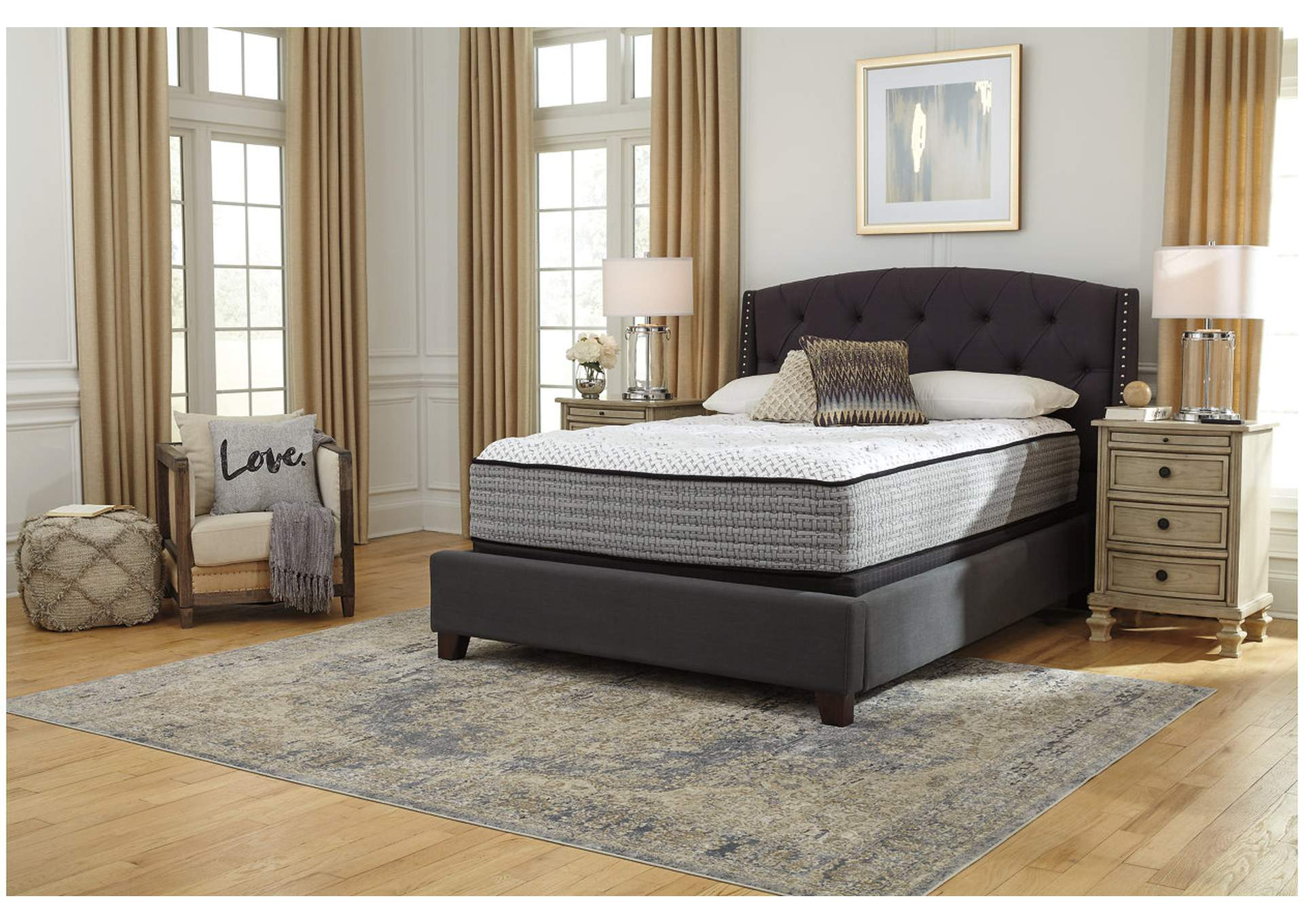 Sante Fe Plush Queen Mattress,Sierra Sleep by Ashley