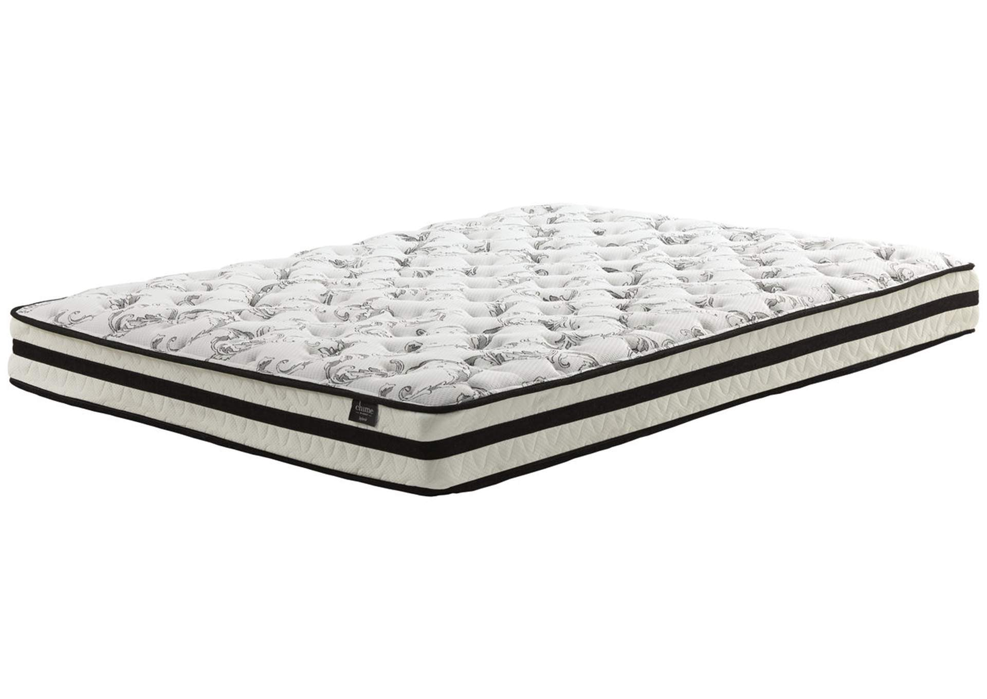 8 Inch Chime Innerspring King Mattress in a Box,Sierra Sleep by Ashley