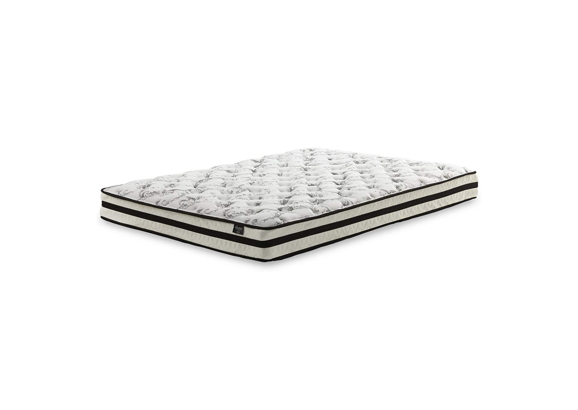 "Chime 8"" White Innerspring Full Mattress,Direct To Consumer Express"