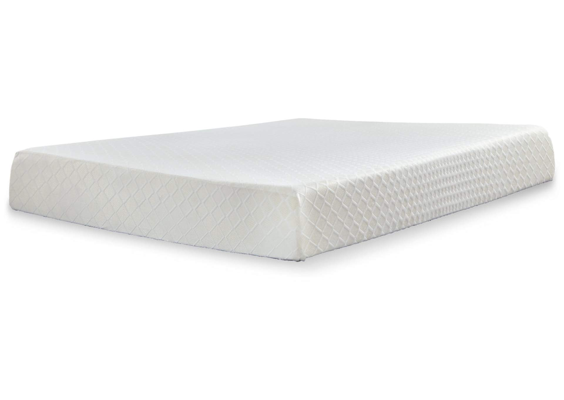 10 Inch Chime Memory Foam Queen Mattress in a Box,Sierra Sleep by Ashley
