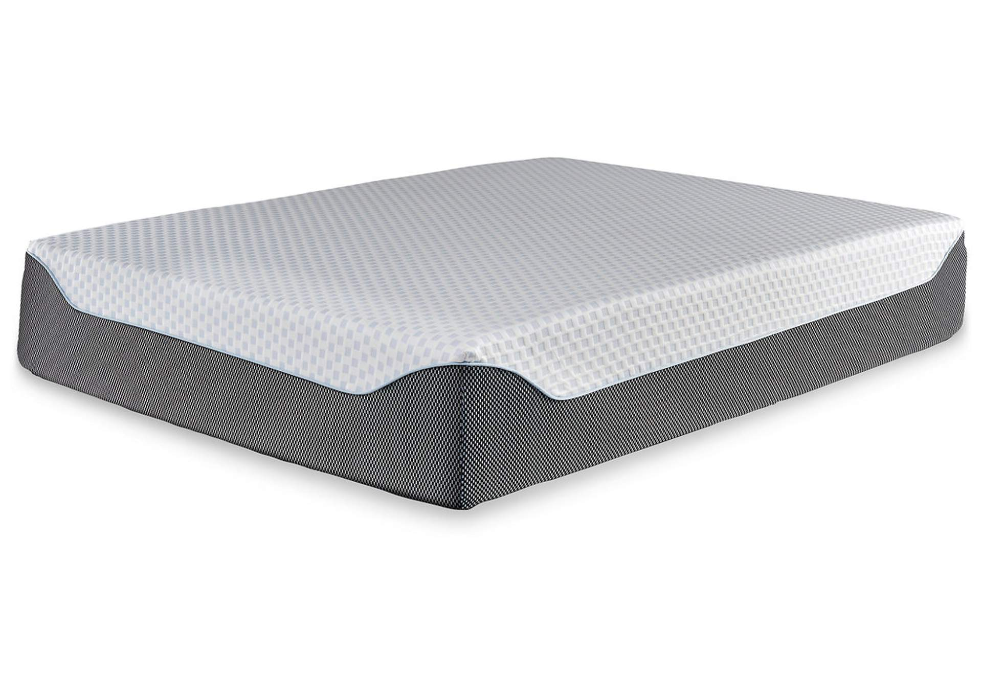 14 Inch Chime Elite Queen Memory Foam Mattress in a Box,Sierra Sleep by Ashley