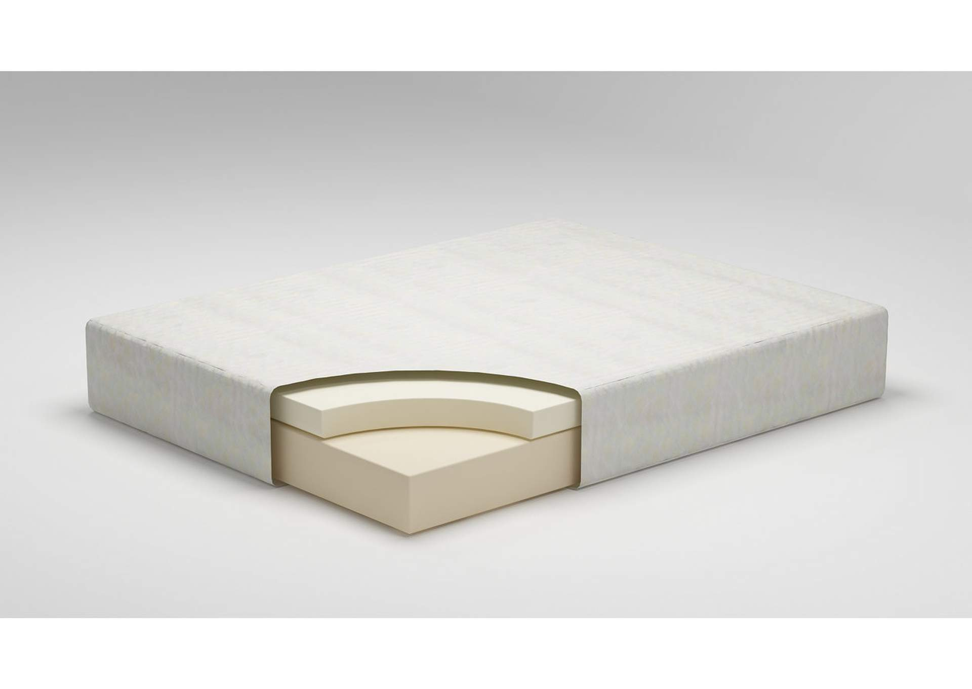 "Chime 12"" White Memory Foam Full Mattress,Direct To Consumer Express"