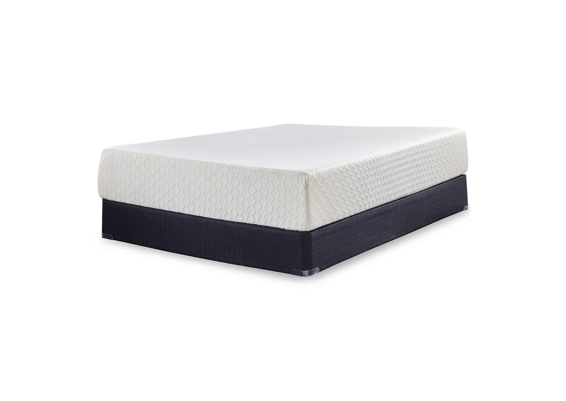 "Chime 12"" White Memory Foam California King Mattress,Direct To Consumer Express"