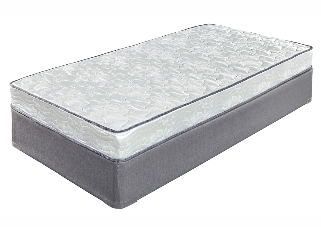 6 Inch Bonell Full Mattress w/Foundation,Sierra Sleep by Ashley