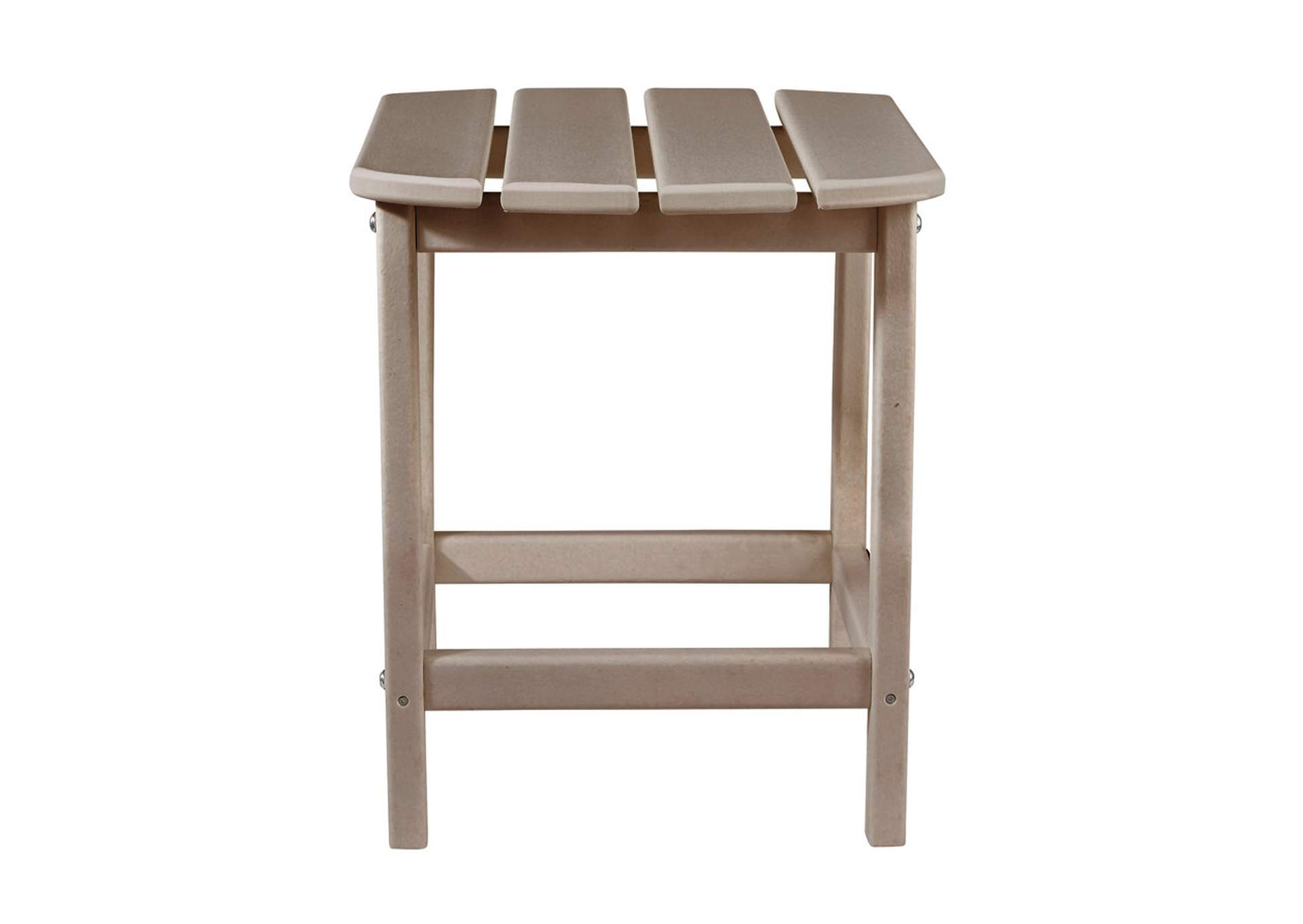 Sundown Treasure Brown End Table,Outdoor By Ashley