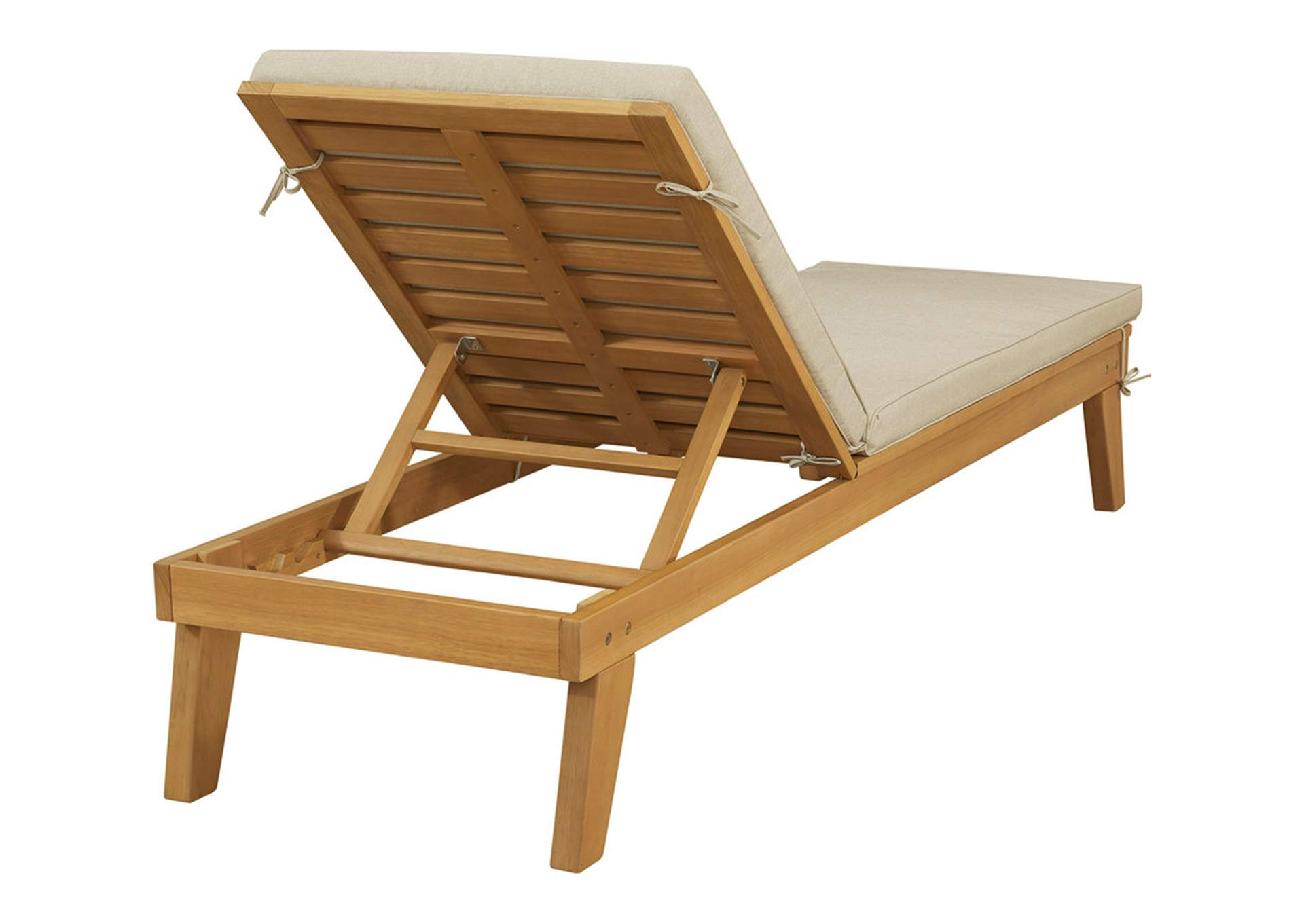 Byron Bay Chaise Lounge with Cushion,Outdoor By Ashley