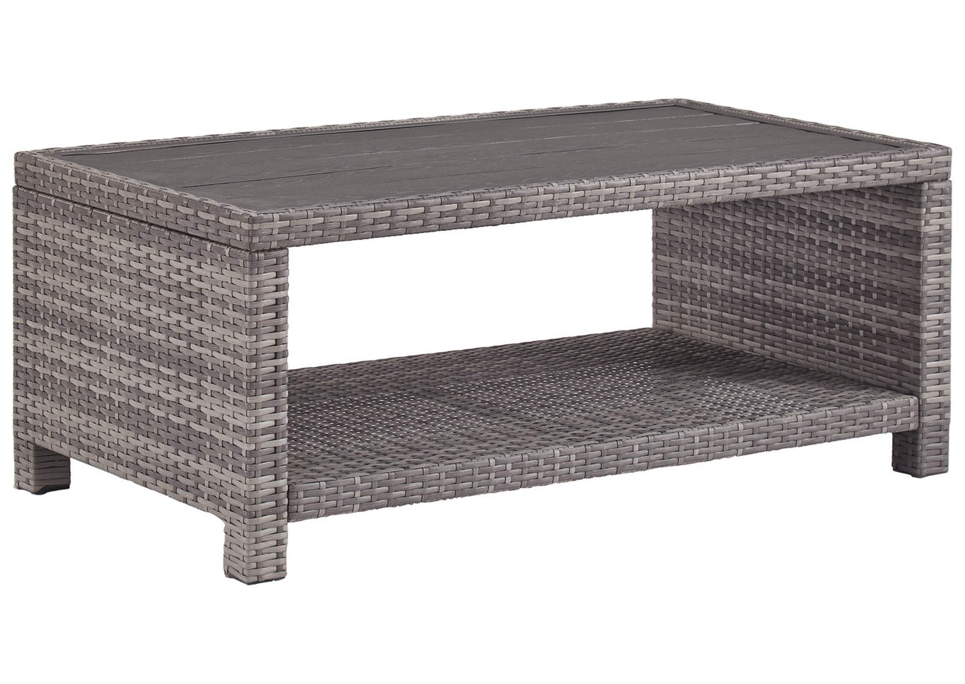 Salem Beach Gray Coffee Table,Outdoor By Ashley