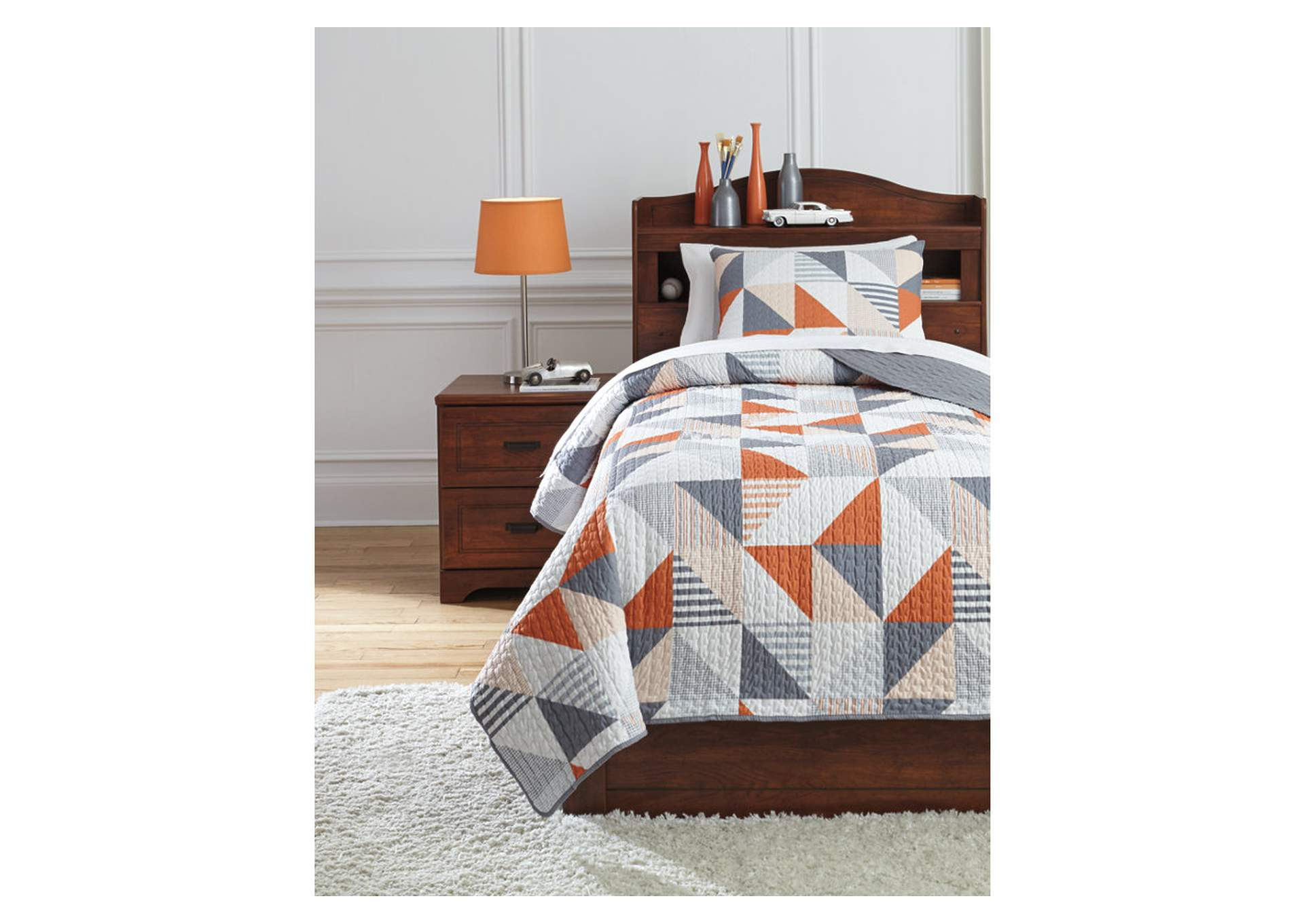 Layne 2-Piece Twin Coverlet Set,Direct To Consumer Express