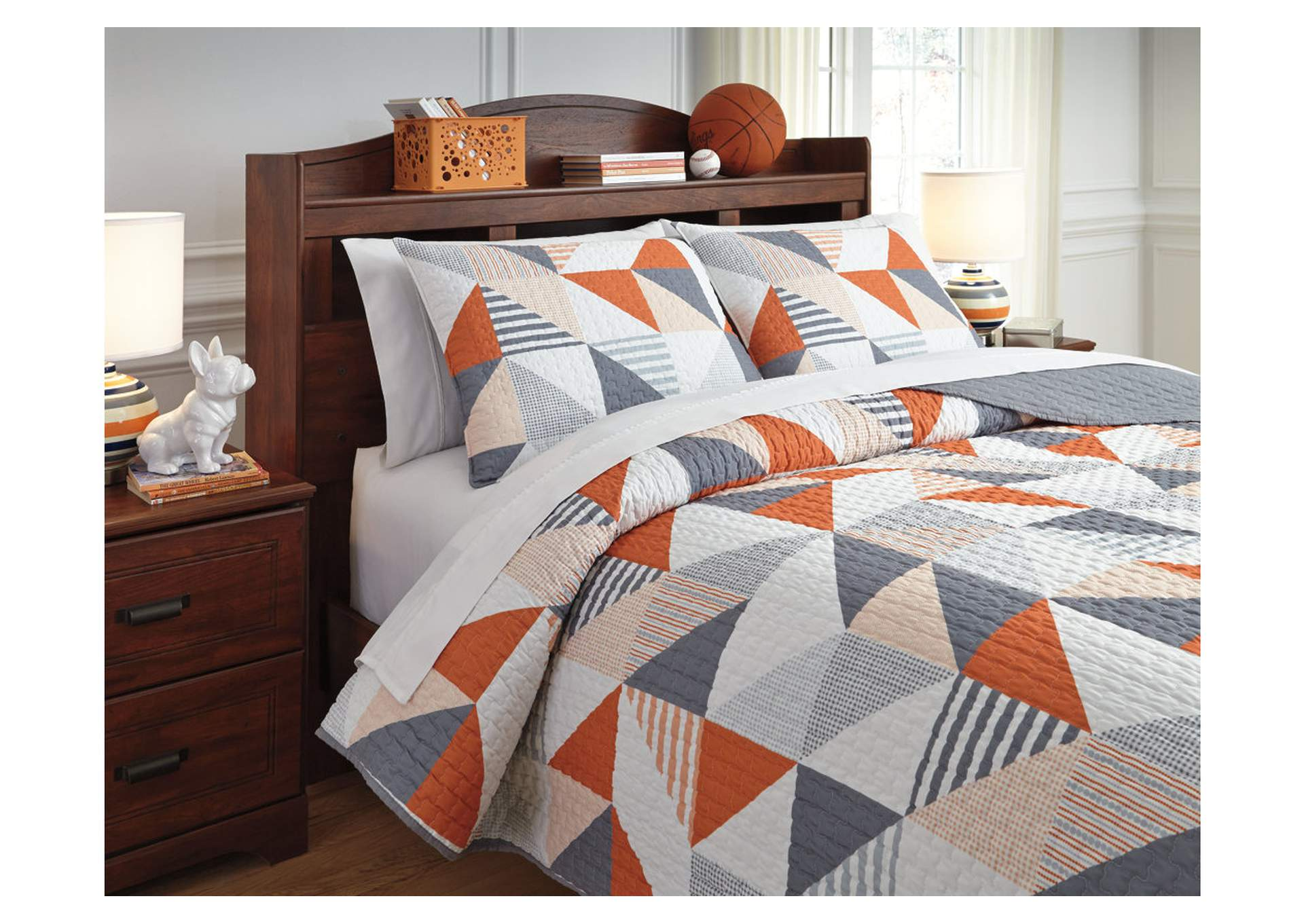Layne 3-Piece Full Coverlet Set,Direct To Consumer Express