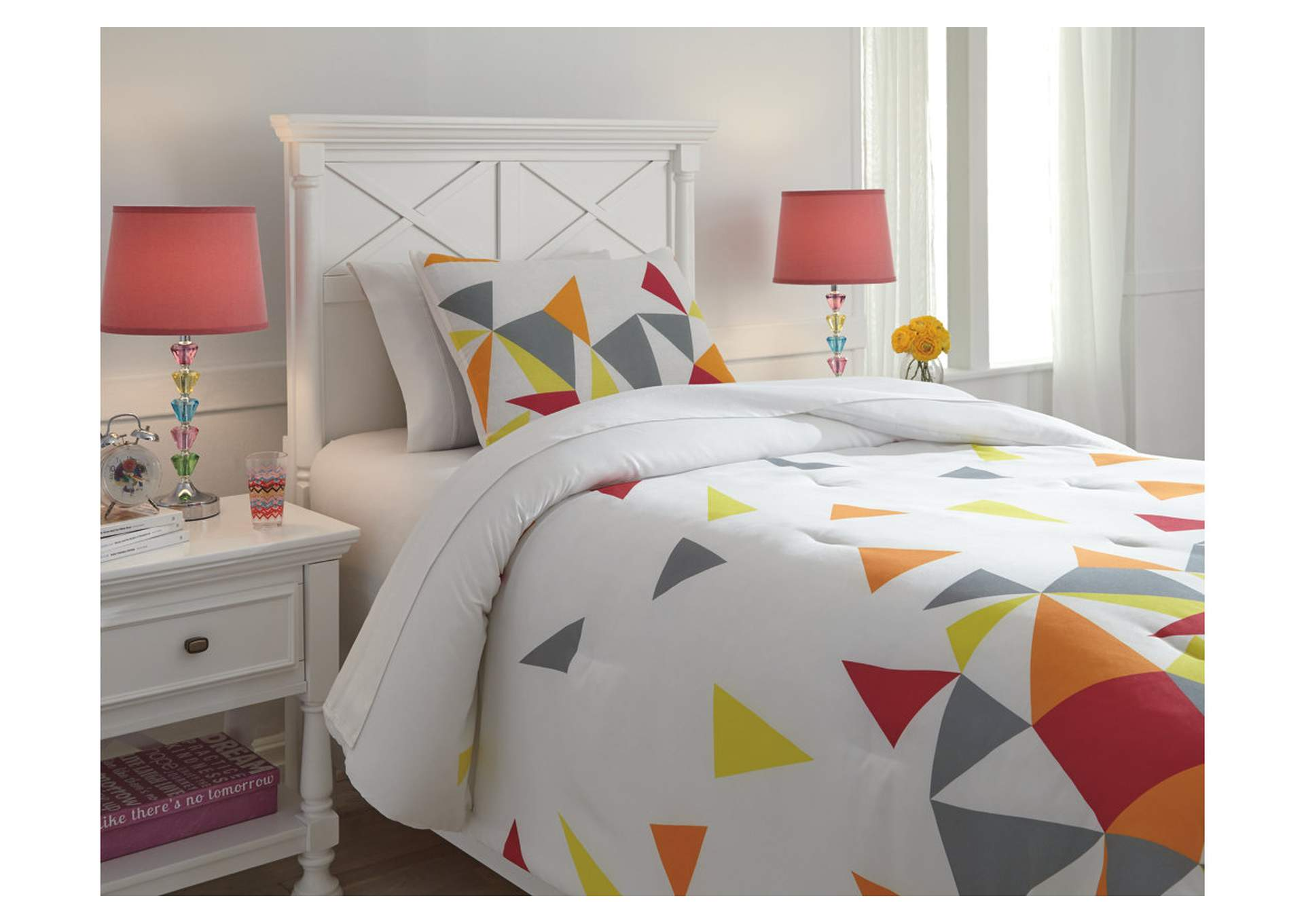 Maxie Multi Twin Comforter Set,Signature Design By Ashley