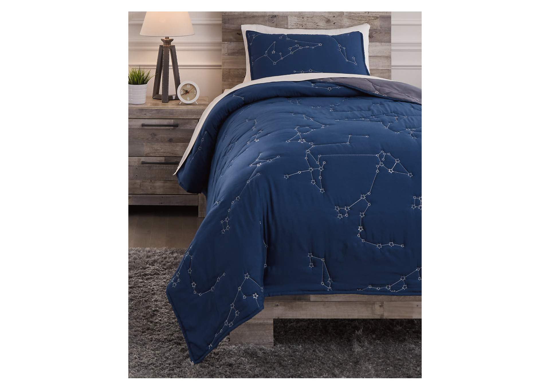Ekin Twin Quilt Set,Signature Design By Ashley
