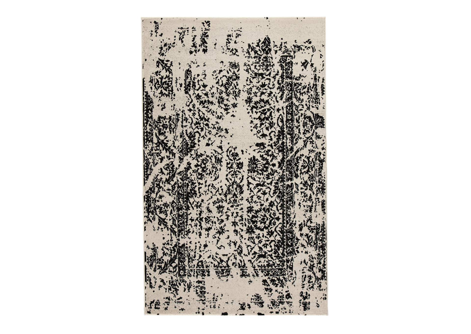Jag Black/White Large Rug,Direct To Consumer Express