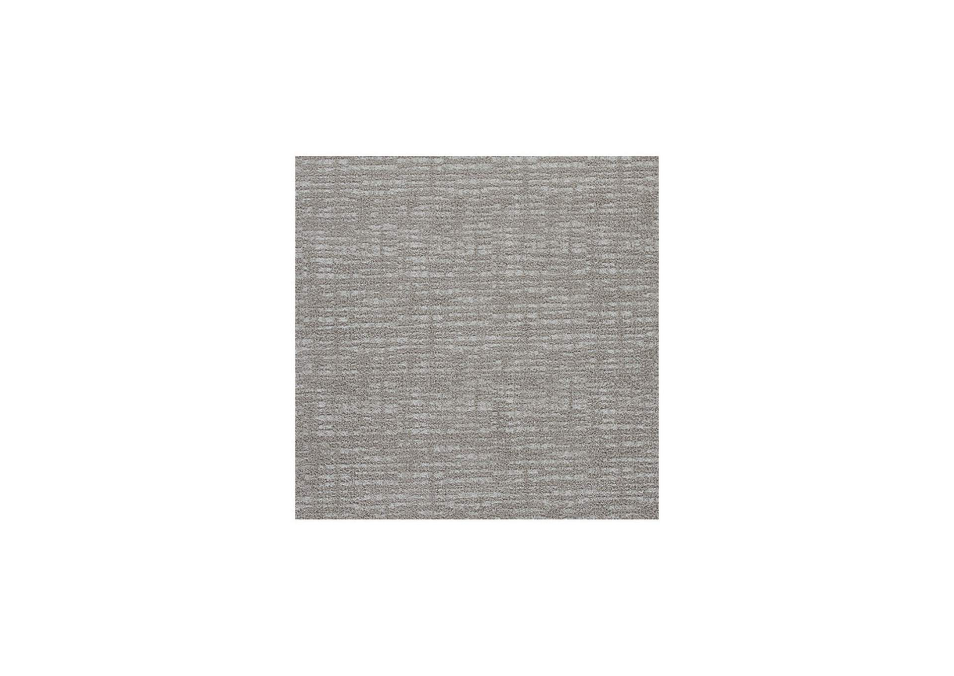 Norris Taupe/White Medium Rug,Direct To Consumer Express