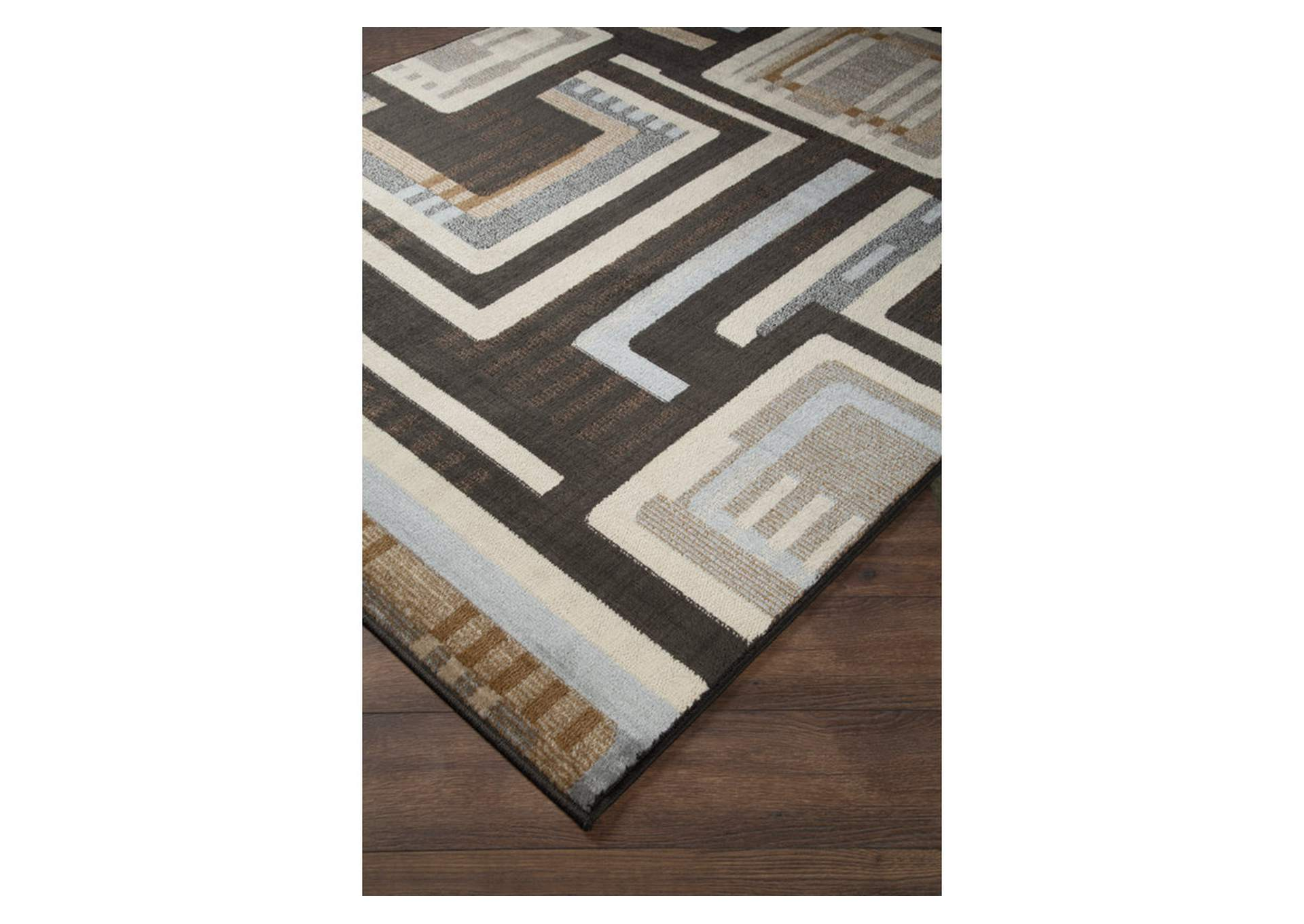 Juhani Multi Large Rug,Direct To Consumer Express