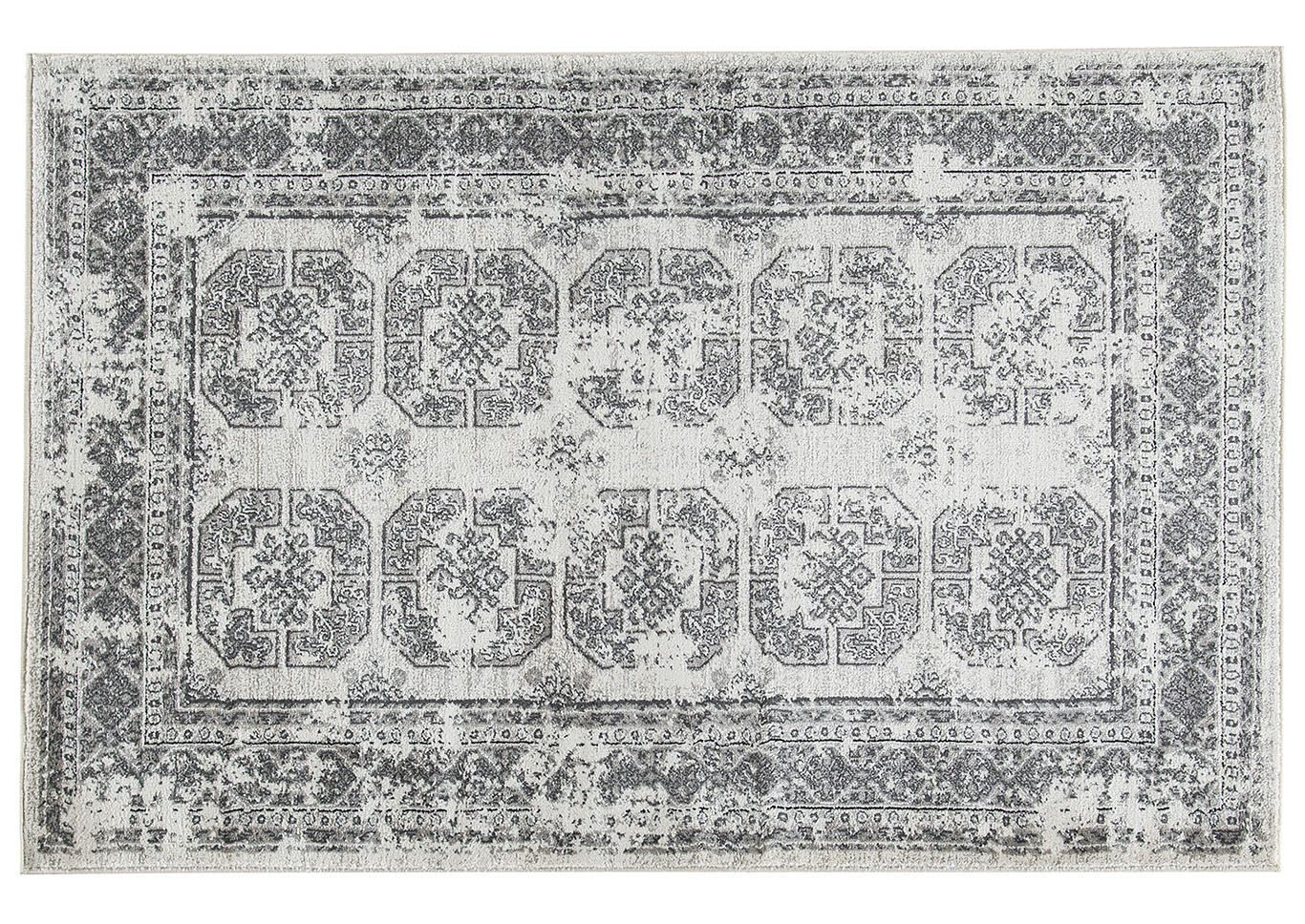 Jirou Gray/Taupe Large Rug,Direct To Consumer Express