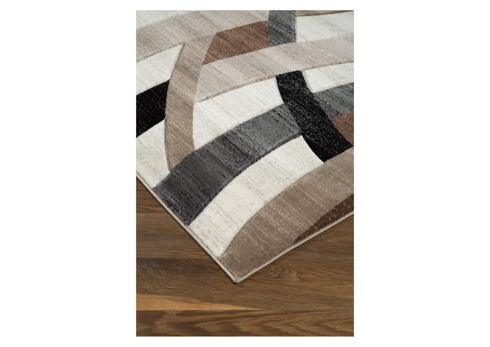 Jacinth Brown Large Rug,Direct To Consumer Express