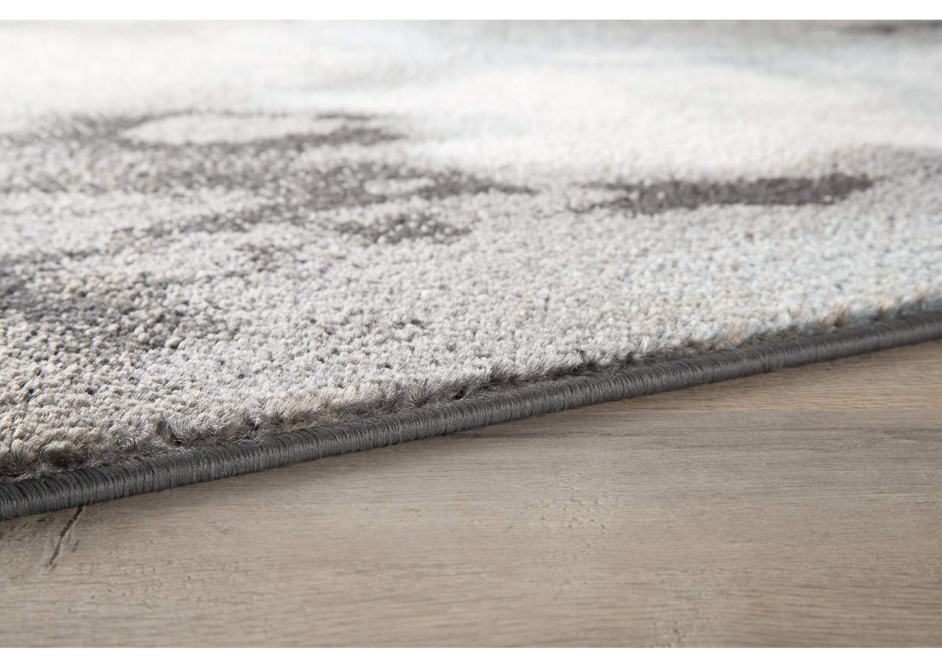 Joash Gray Large Rug,Direct To Consumer Express