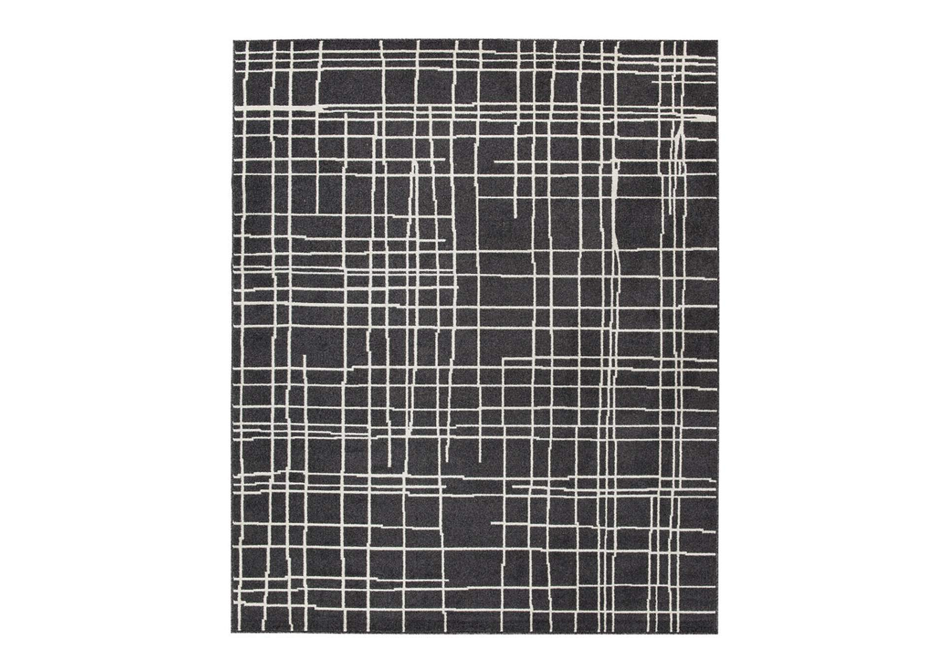 Jai Black/White Large Rug,Direct To Consumer Express