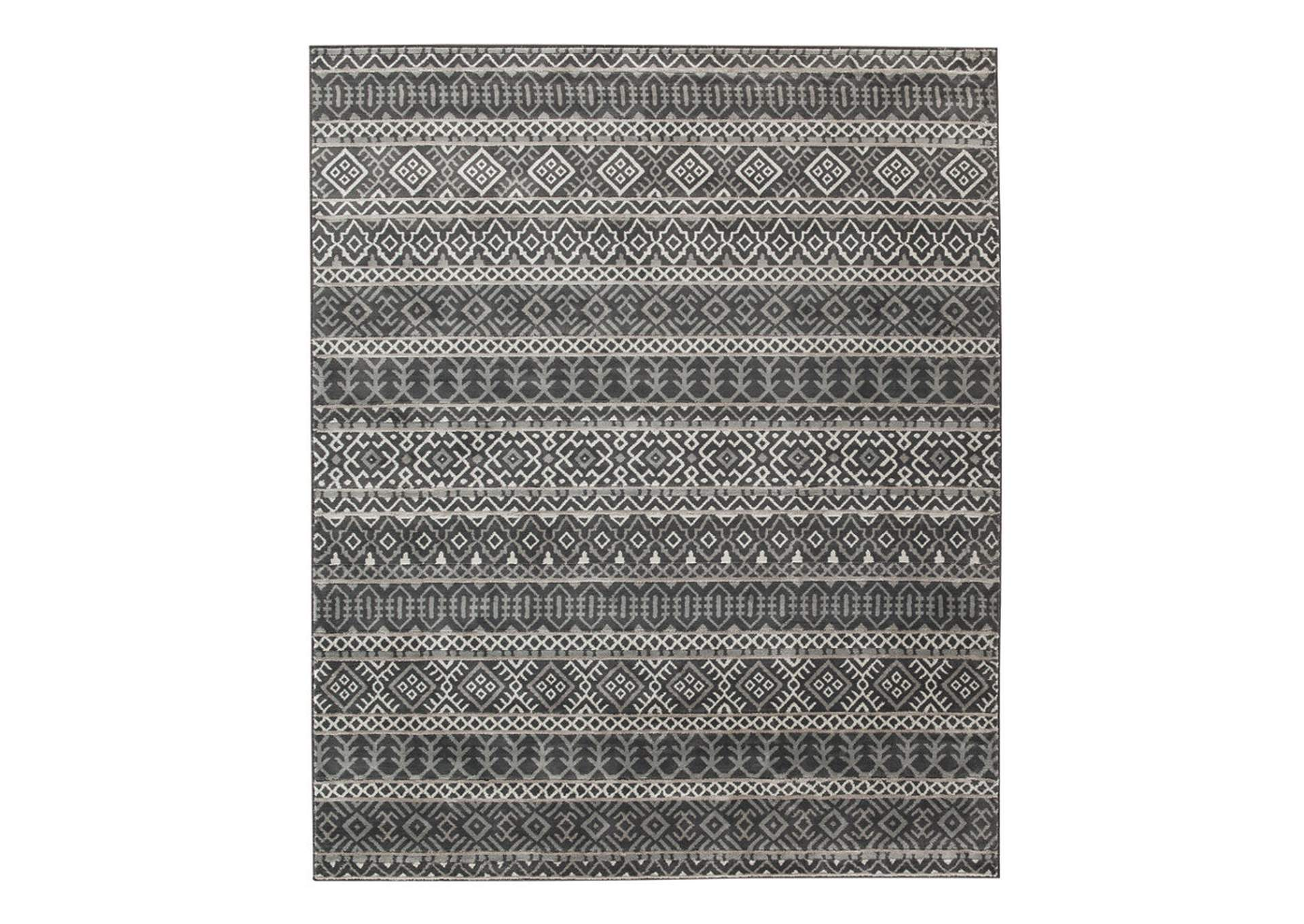 Joachim Black/Tan Medium Rug,Direct To Consumer Express