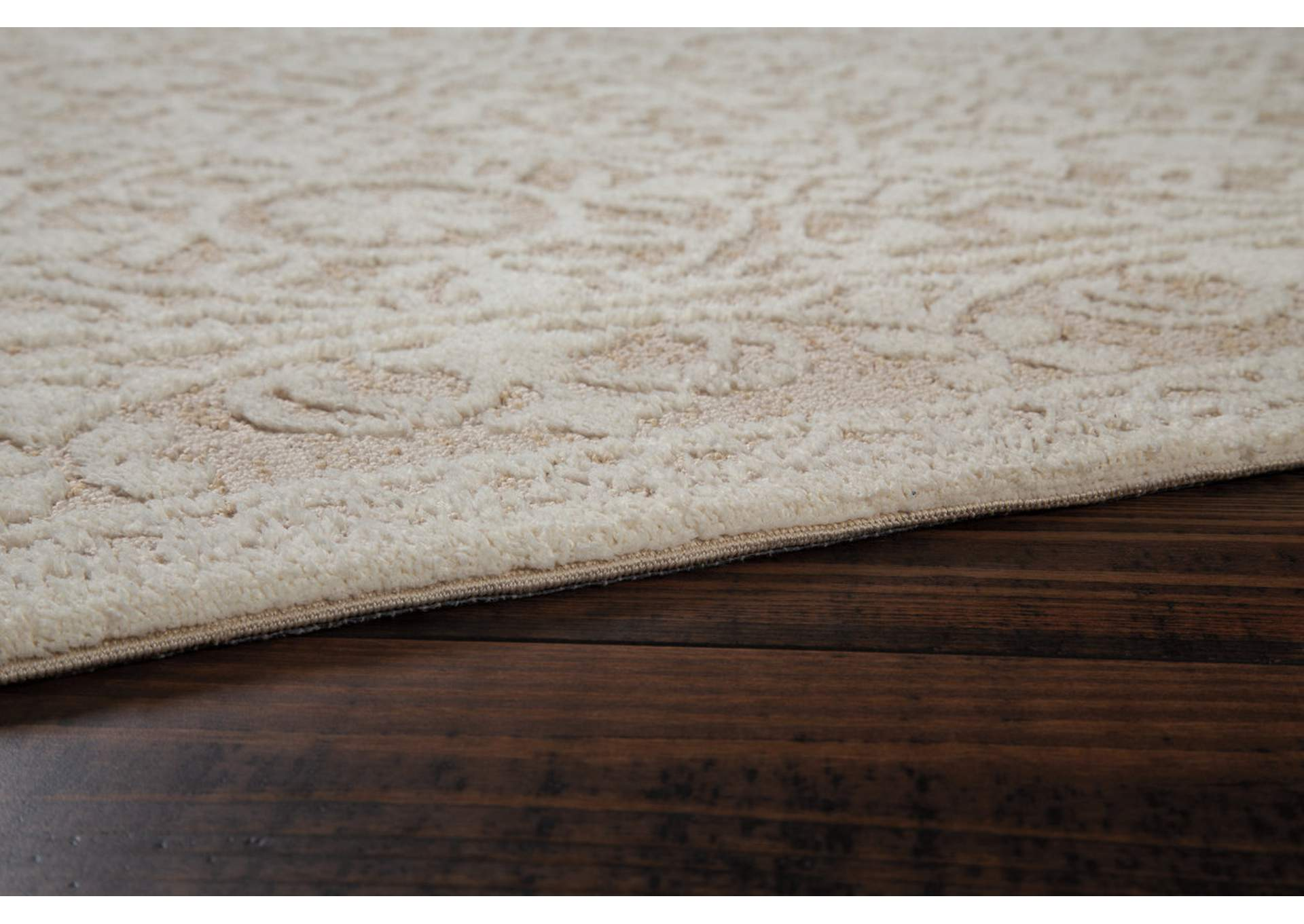 Beana Ivory/Beige Medium Rug,Signature Design By Ashley