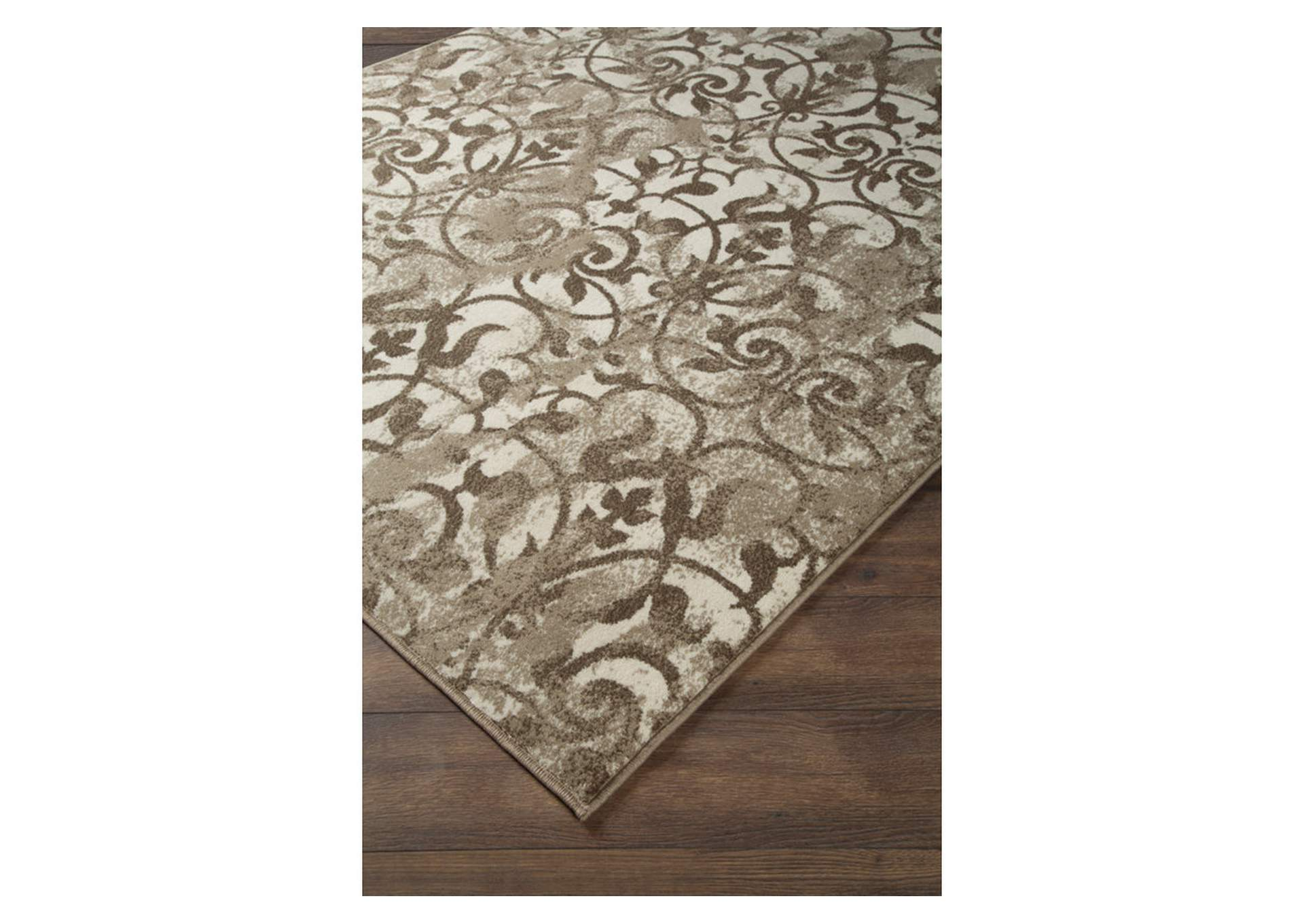 Cadrian White 8' x 10' Rug,Signature Design By Ashley