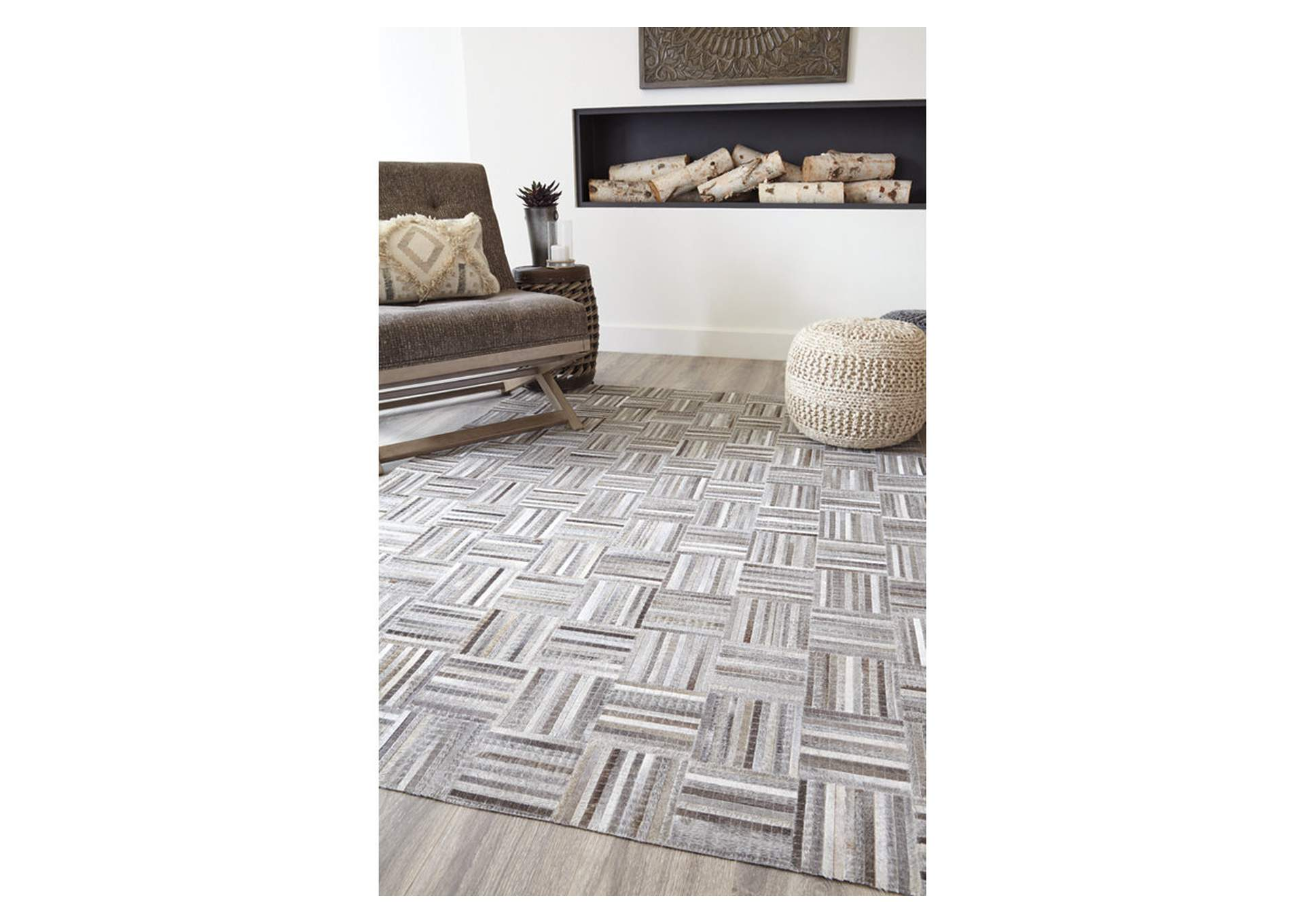 Gilham Gray Large Rug,Signature Design By Ashley
