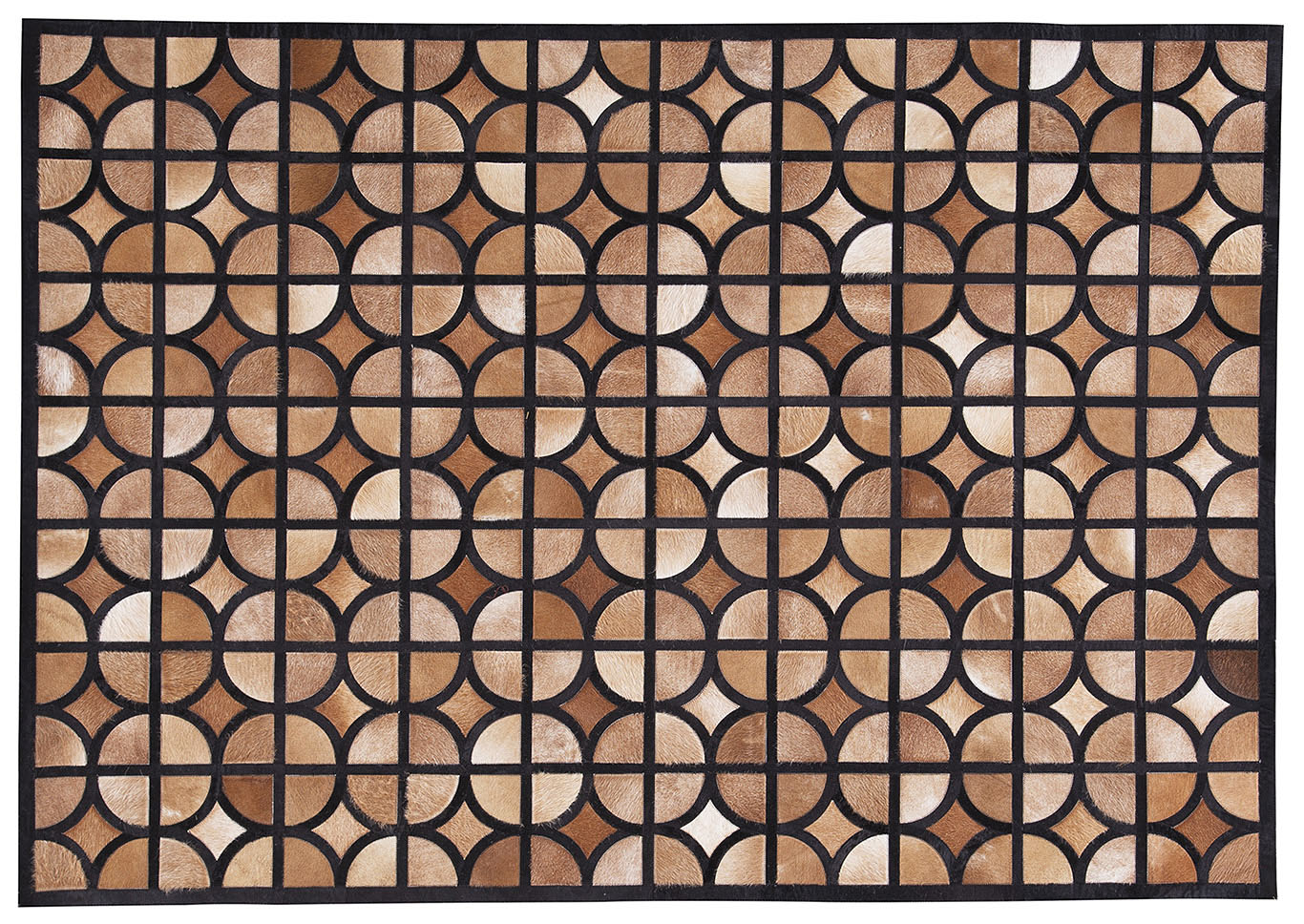 Jingjin Black/Brown Medium Rug,Signature Design By Ashley