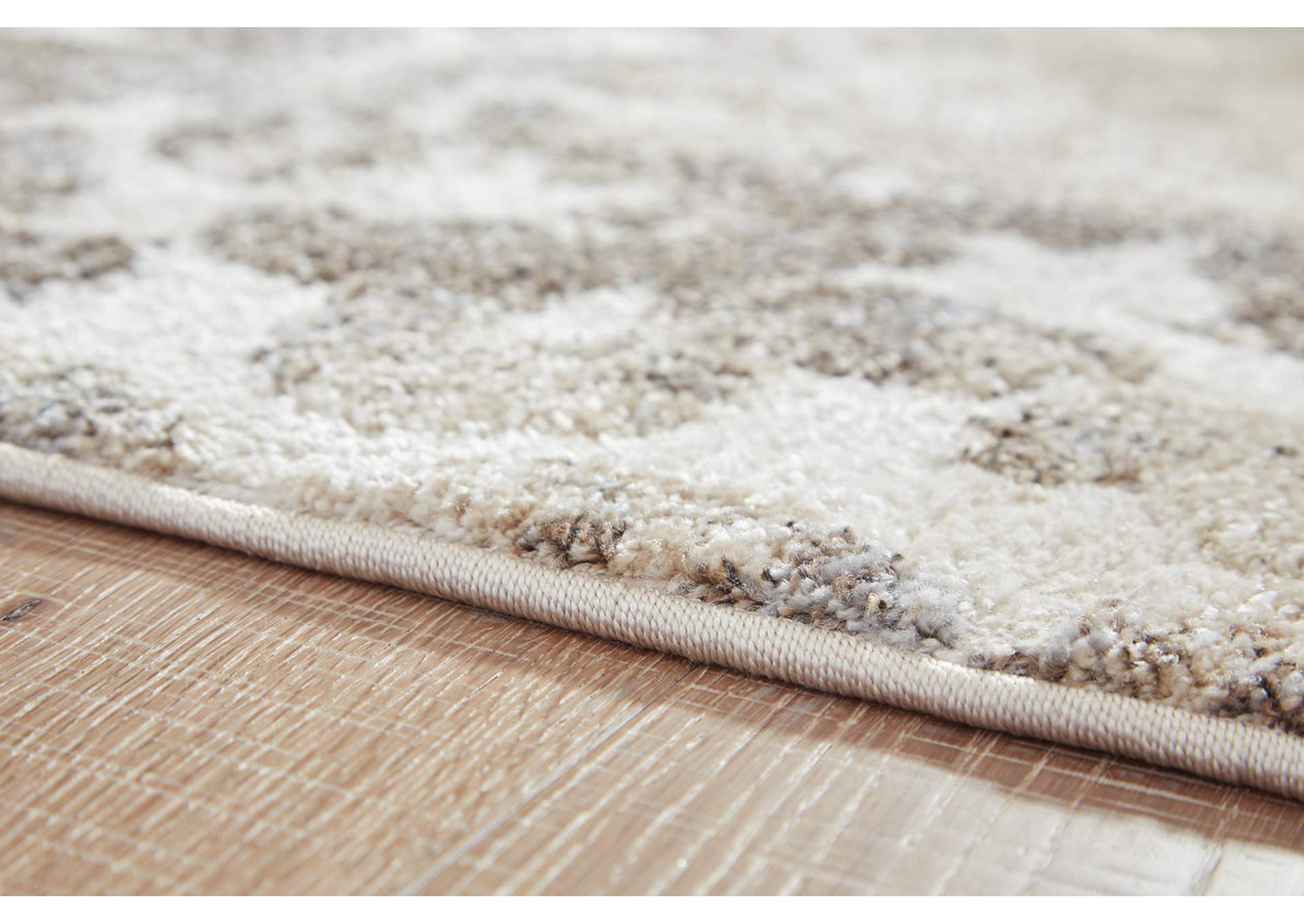 Jiro Brown/Cream Medium Rug,Signature Design By Ashley