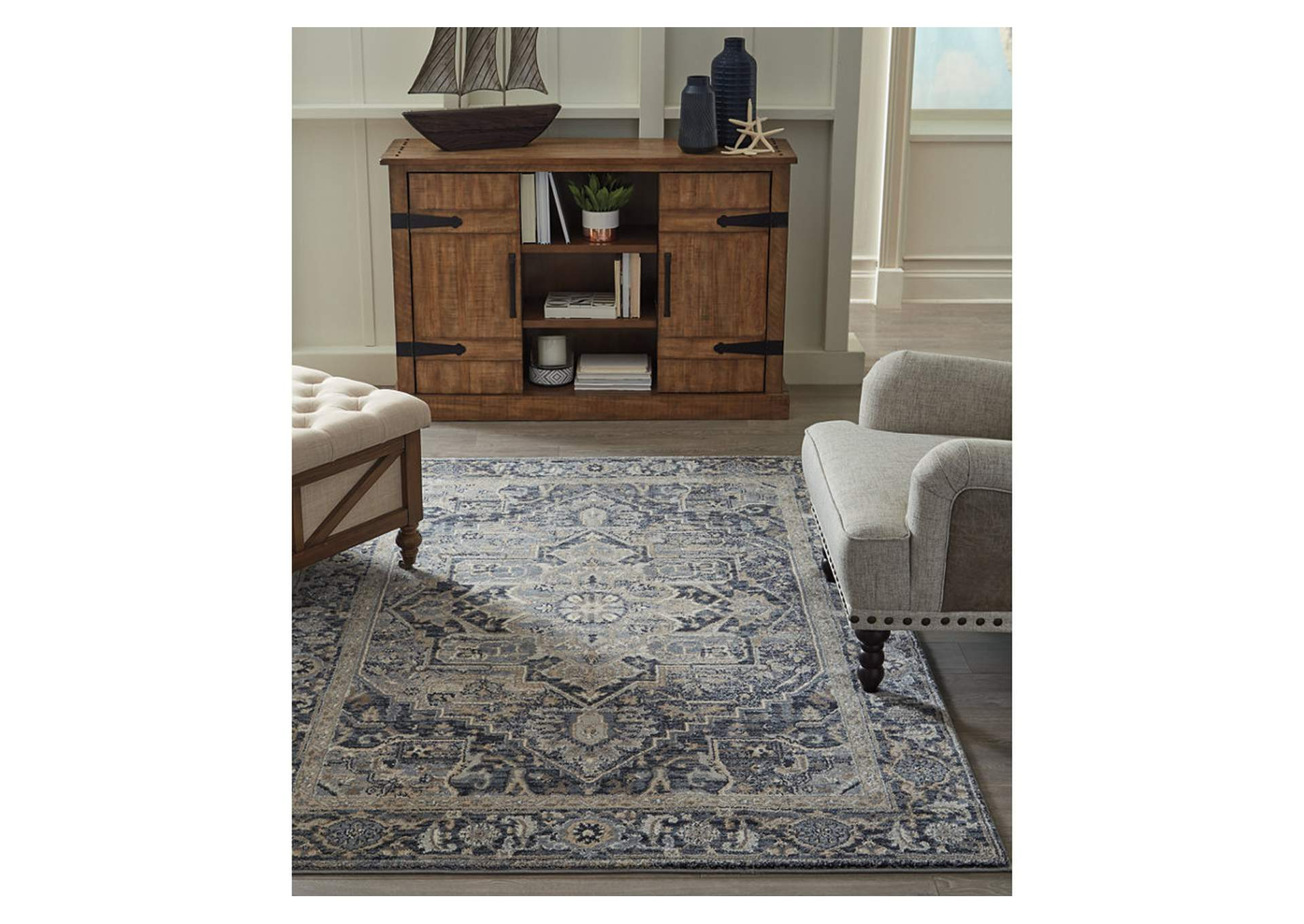 "Paretta 5'3"" x 7'3"" Rug,Signature Design By Ashley"
