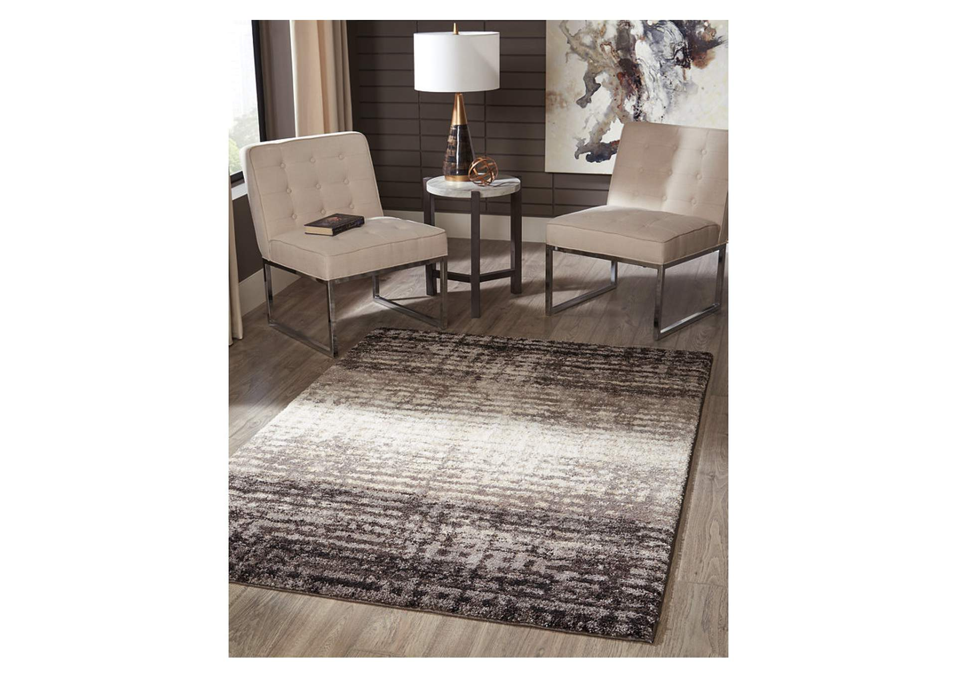 Marleisha Black Large Rug,Signature Design By Ashley
