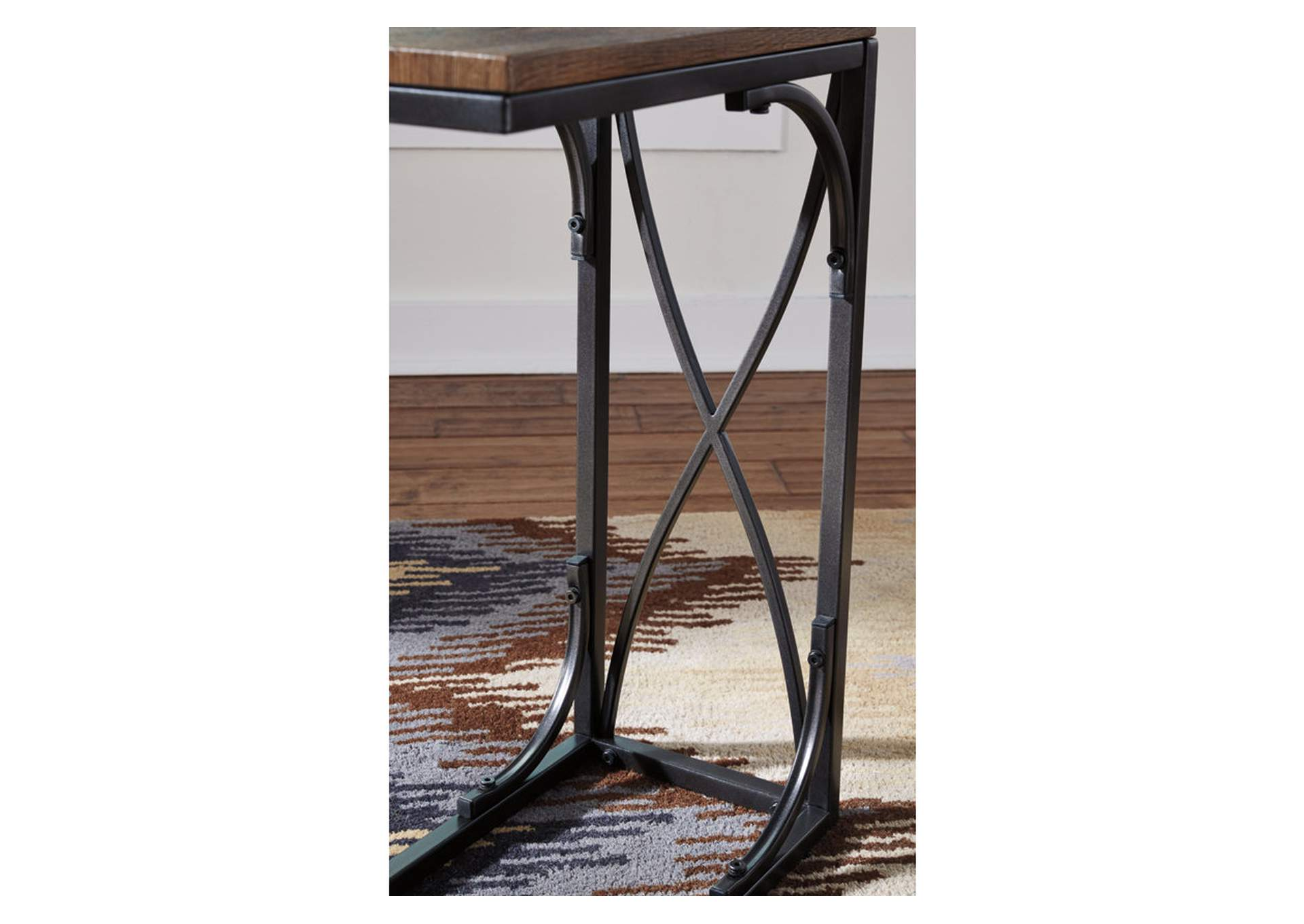 Golander Medium Brown Chair Side End Table,Signature Design By Ashley