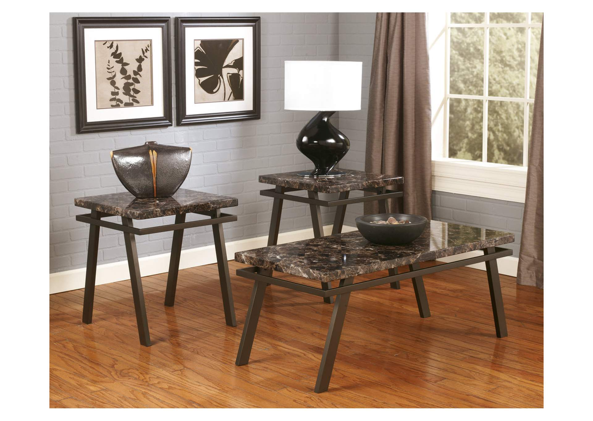 Paintsville Occasional Table Set (Cocktail & 2 Ends),Direct To Consumer Express