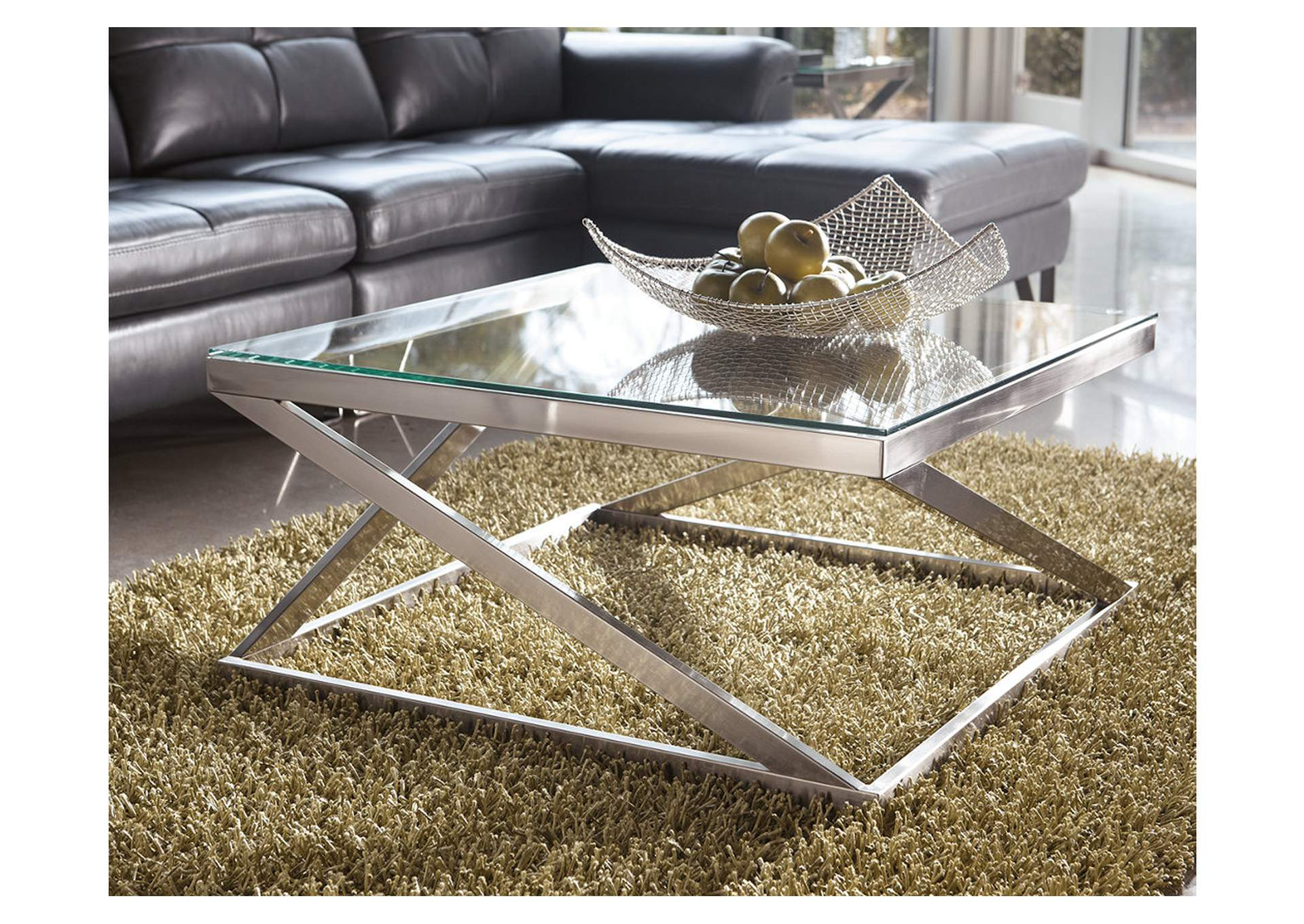 Coylin Square Cocktail Table,Direct To Consumer Express