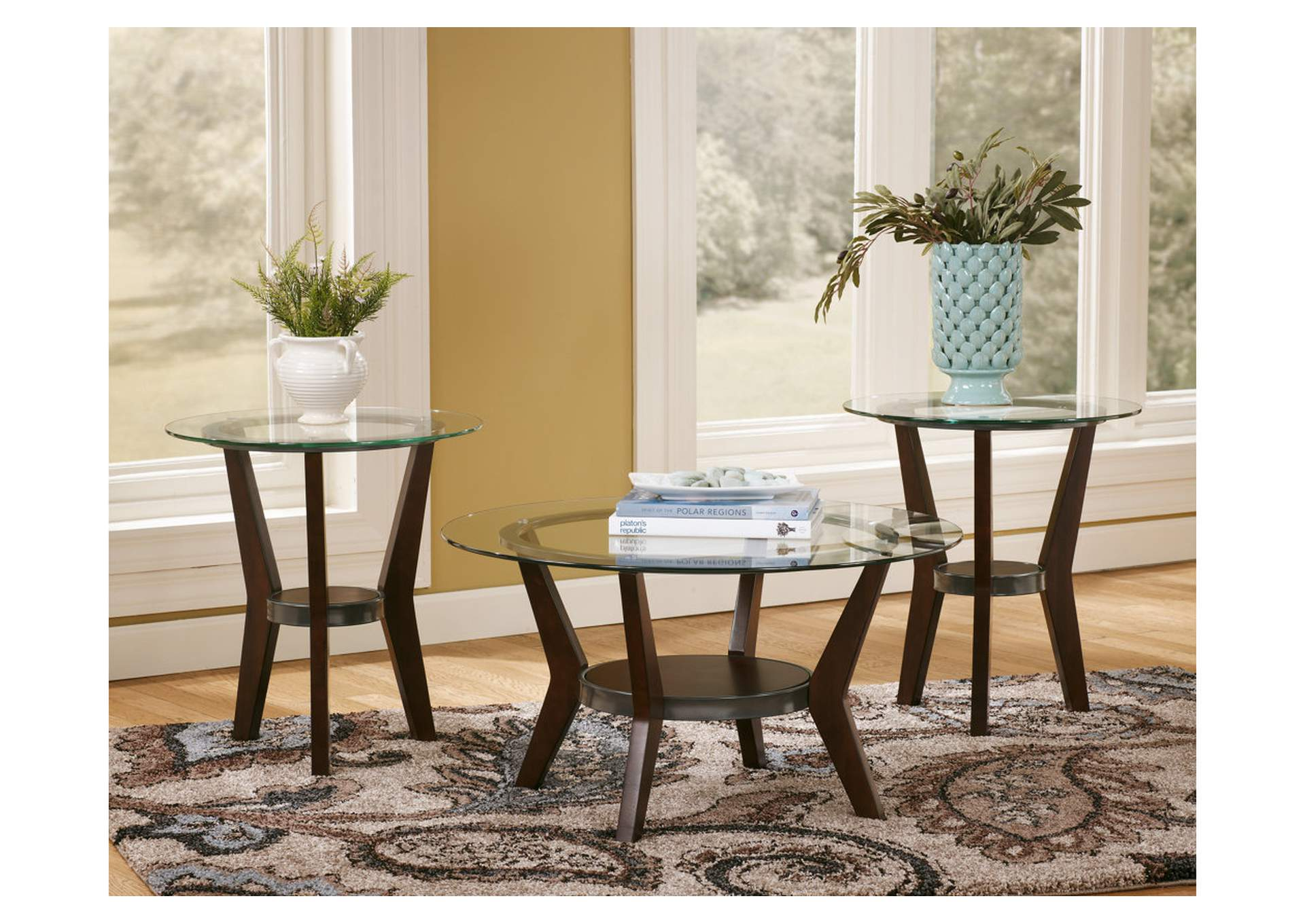 Fantell Occasional Table Set (Cocktail & 2 Ends),Direct To Consumer Express